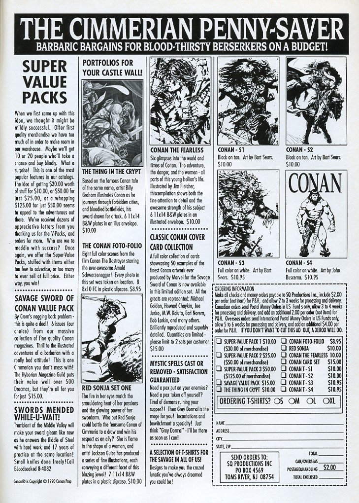 The Savage Sword Of Conan Issue #179 #180 - English 67