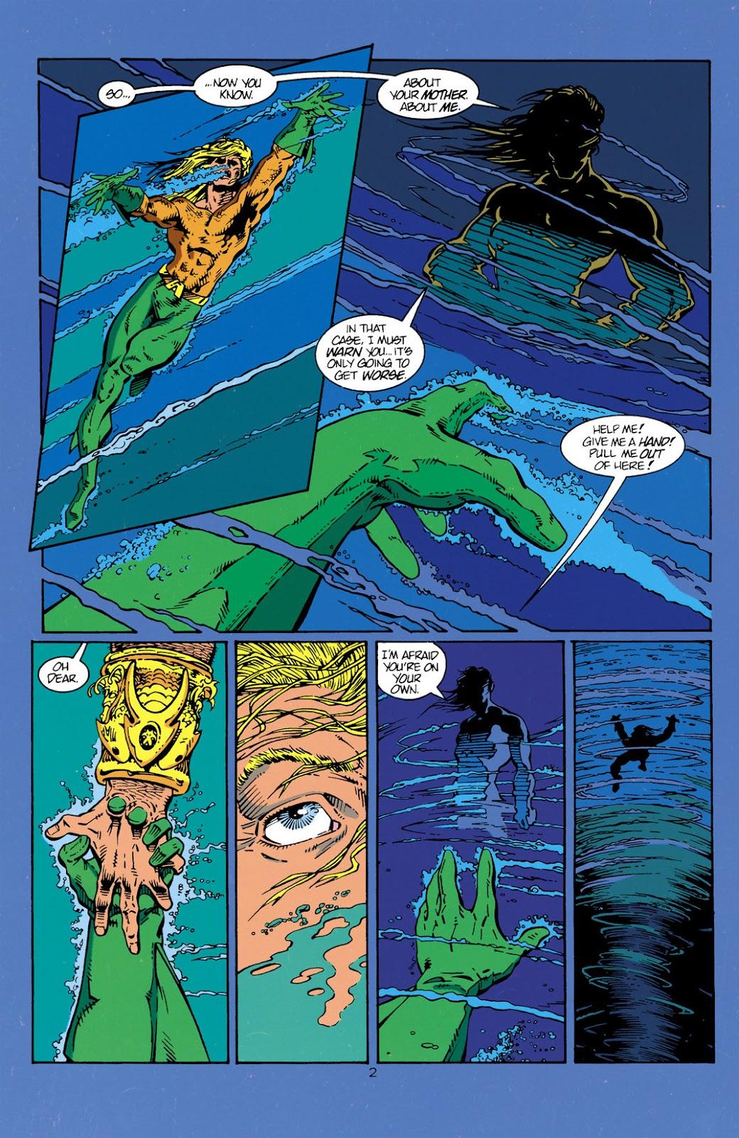 Aquaman (1994) Issue #1 #7 - English 3