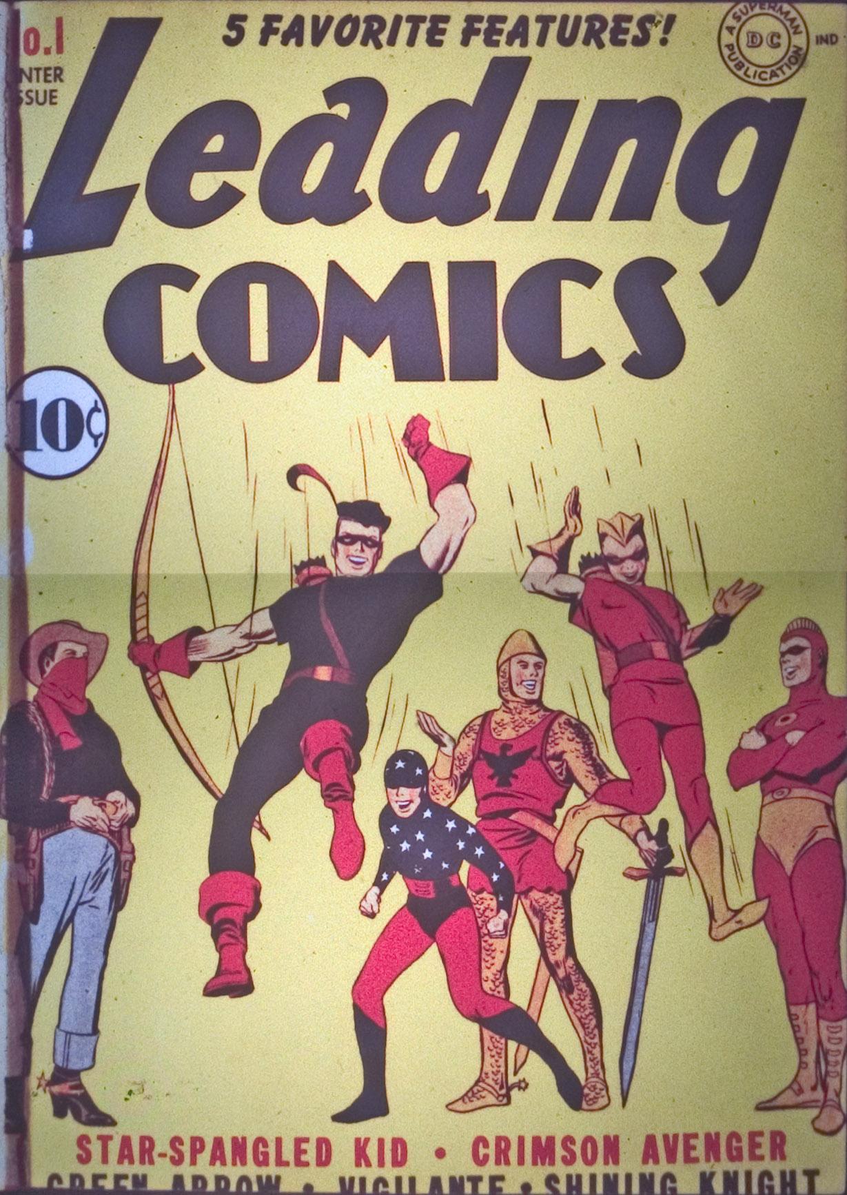Leading Comics 1 Page 1