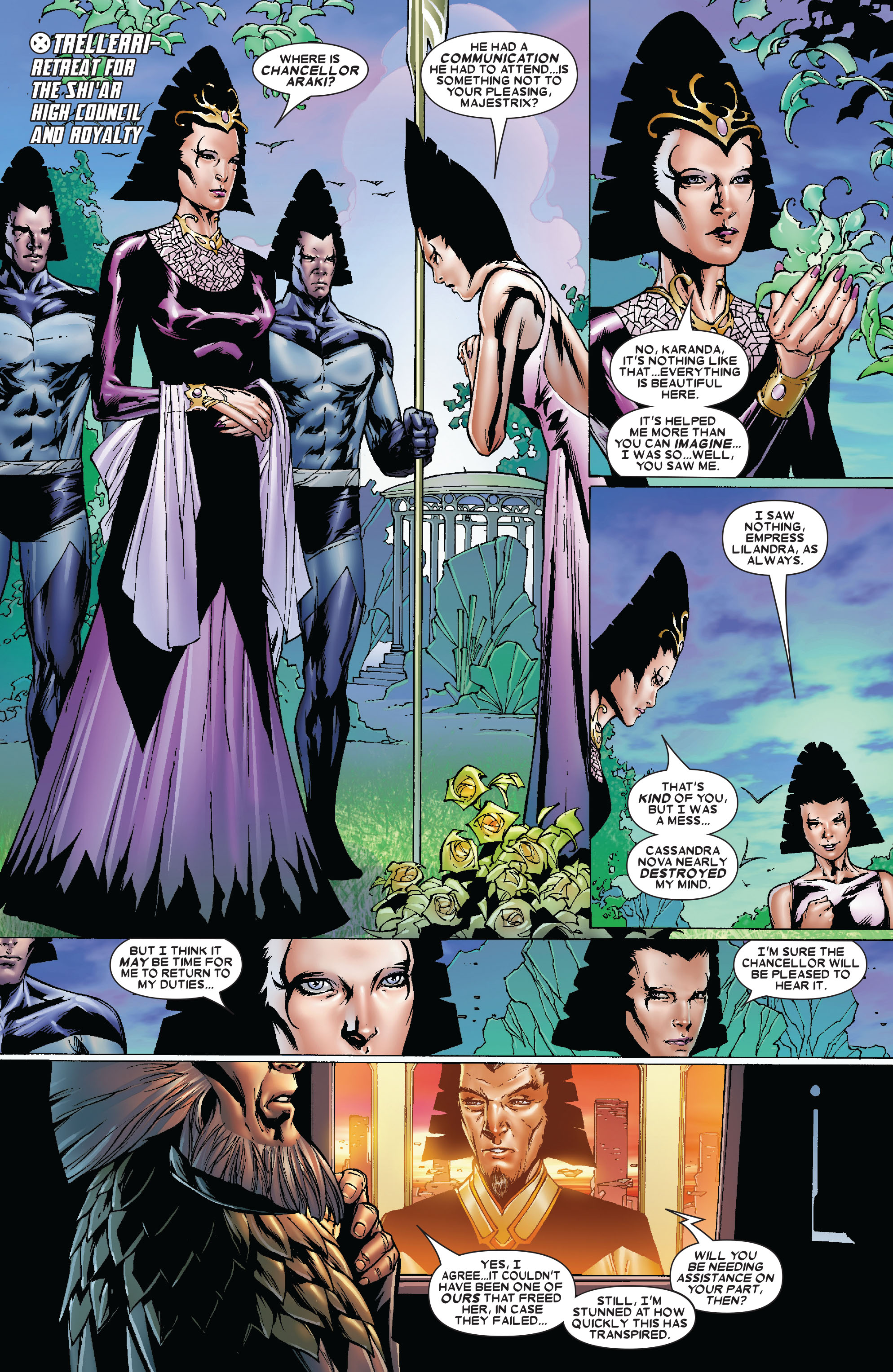 Uncanny X-Men (1963) 481 Page 1