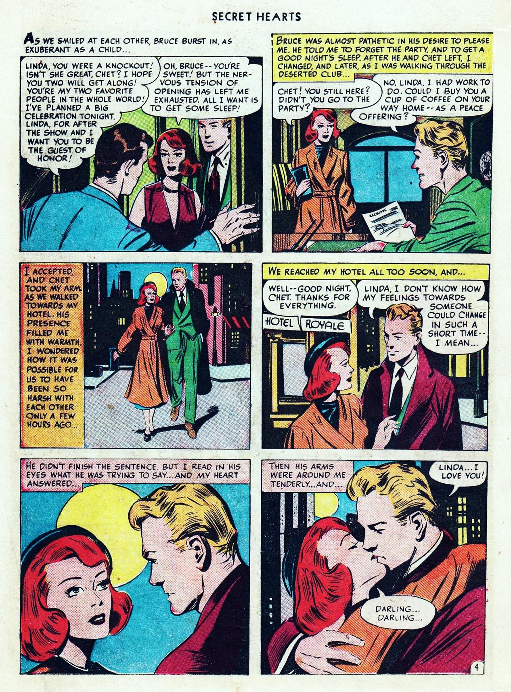 Read online Secret Hearts comic -  Issue #1 - 26