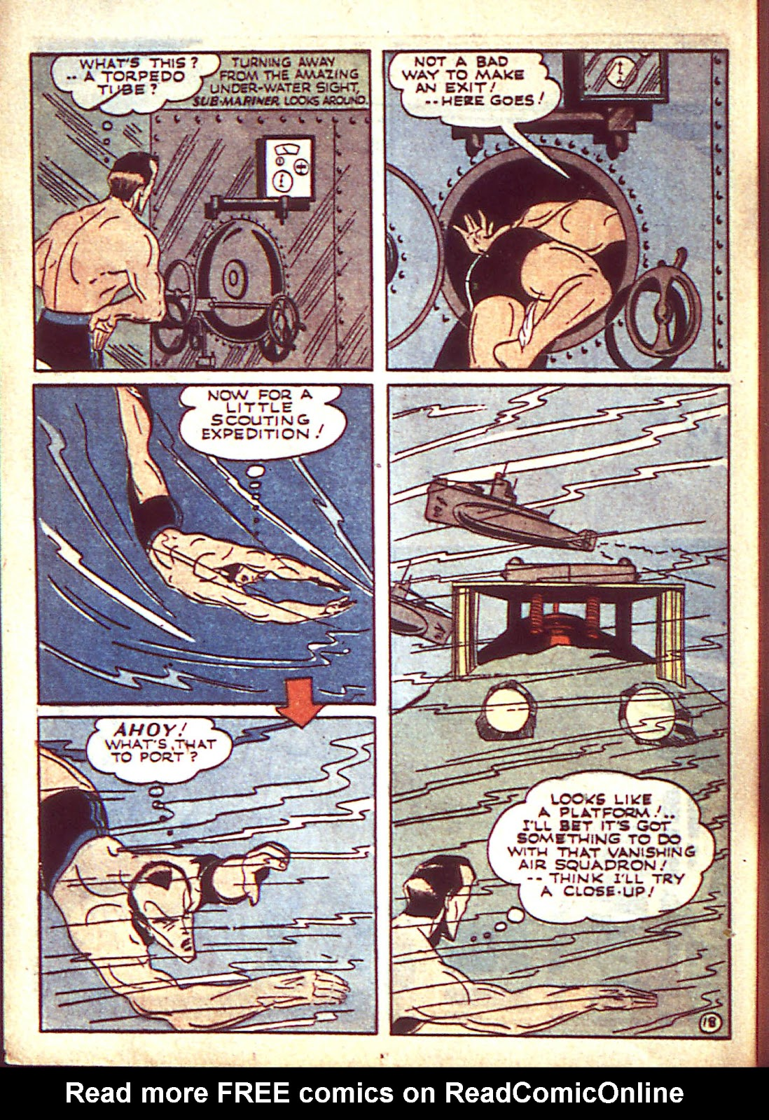 Sub-Mariner Comics Issue #3 #3 - English 21
