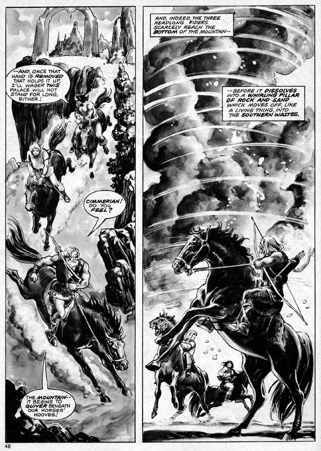 The Savage Sword Of Conan Issue #69 #70 - English 48