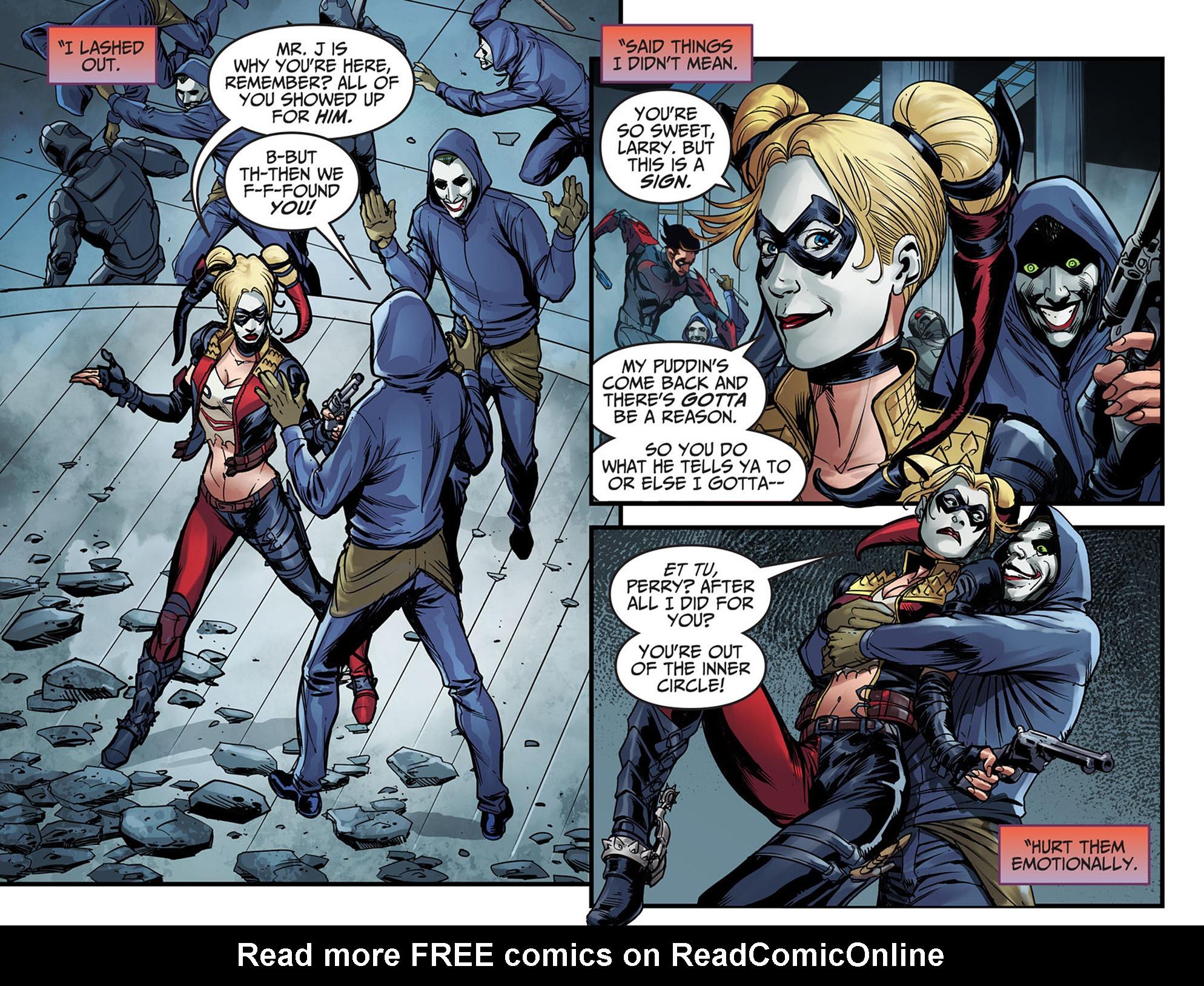 Read online Injustice: Ground Zero comic -  Issue #6 - 8