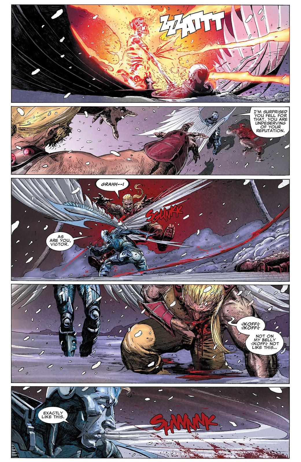 Uncanny X-Force (2010) Issue #17 #18 - English 19