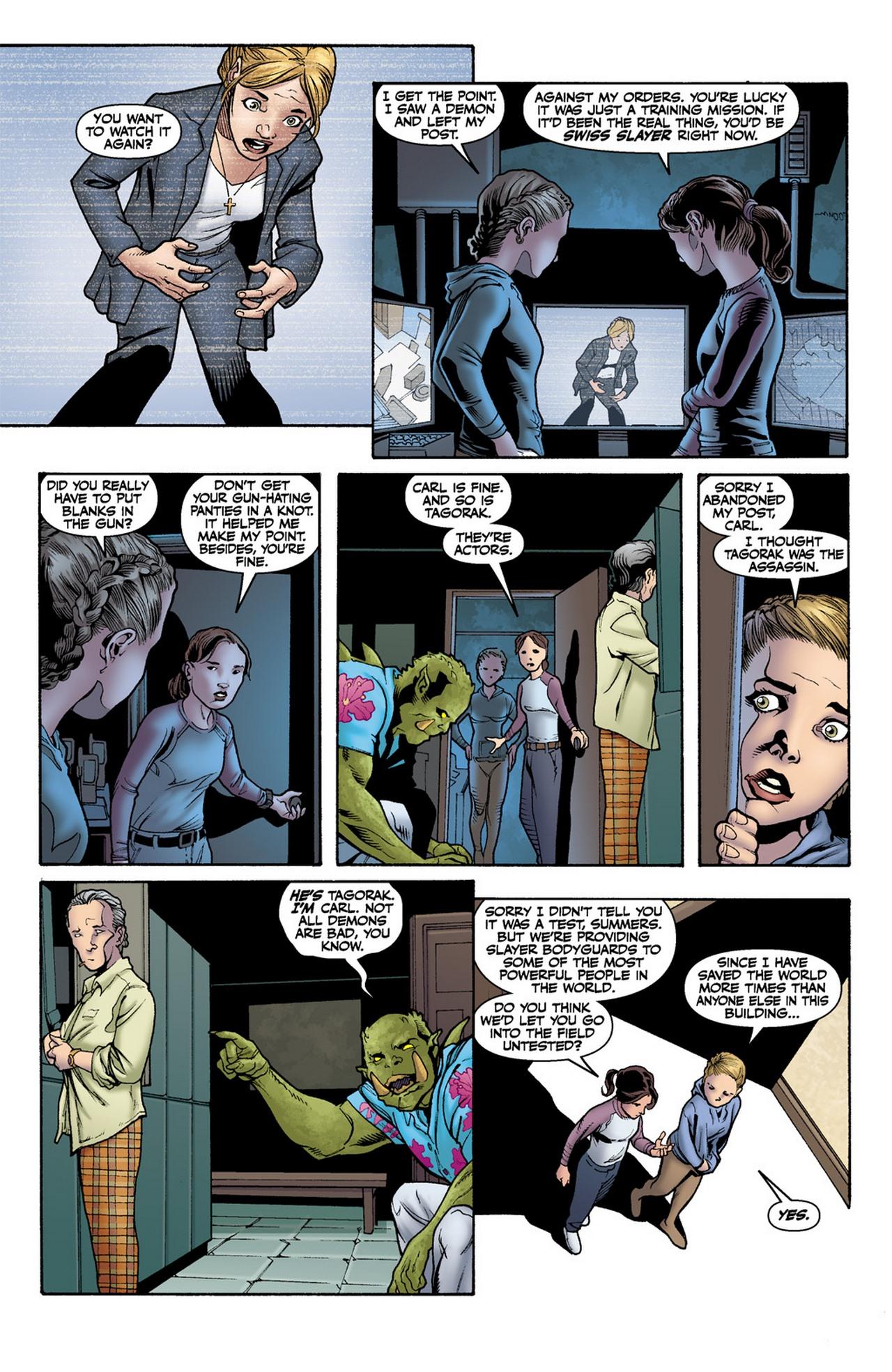 Read online Buffy the Vampire Slayer Season Nine comic -  Issue #11 - 9