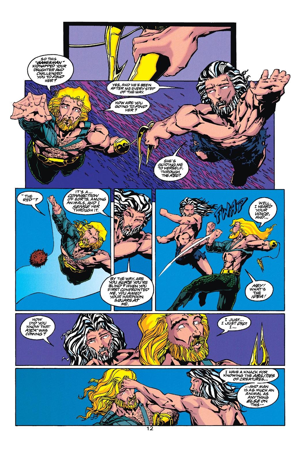 Aquaman (1994) Issue #35 #41 - English 12