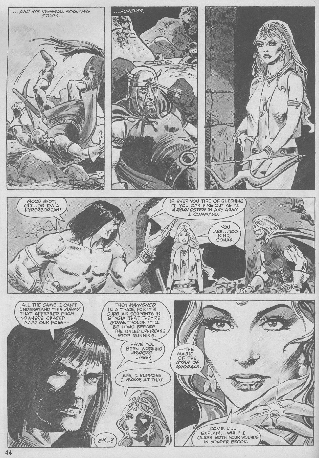 The Savage Sword Of Conan Issue #44 #45 - English 44