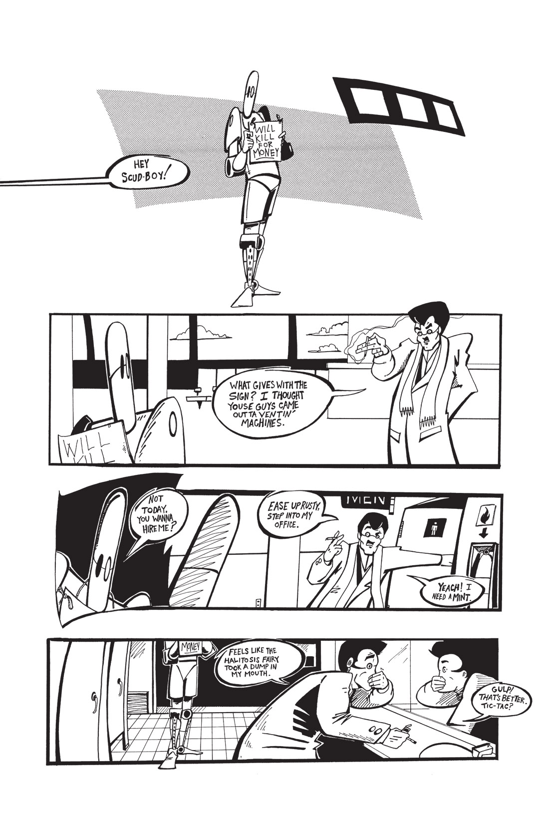 Read online Scud: The Disposable Assassin: The Whole Shebang comic -  Issue # TPB (Part 1) - 42