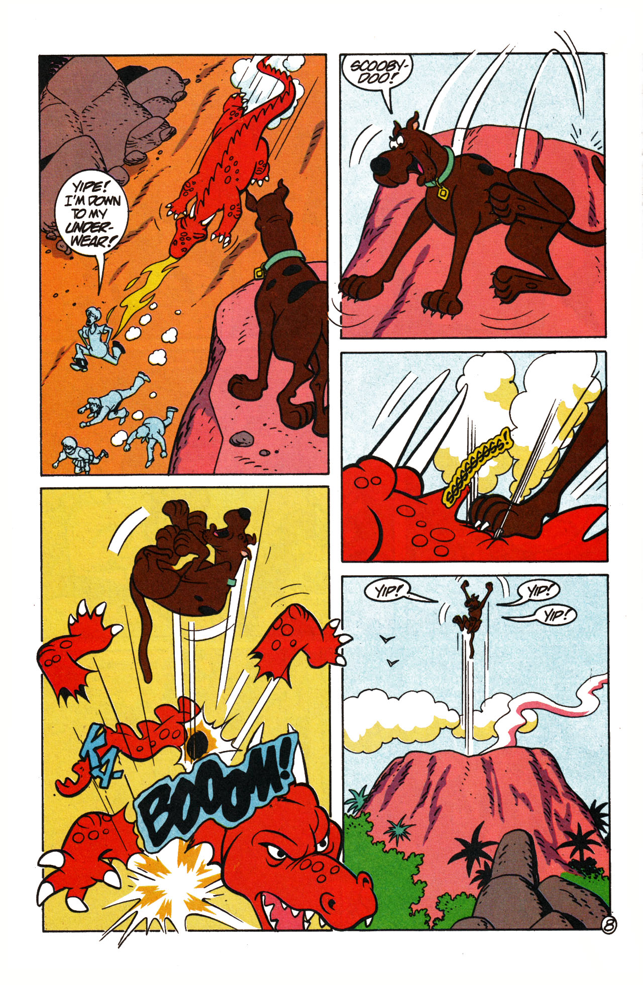 Read online Scooby-Doo (1995) comic -  Issue #15 - 32