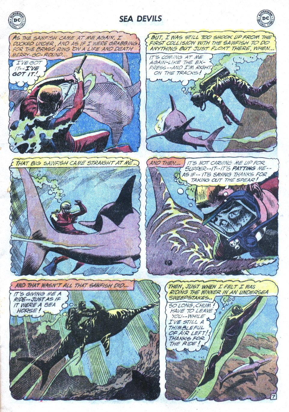 Read online Sea Devils comic -  Issue #4 - 10