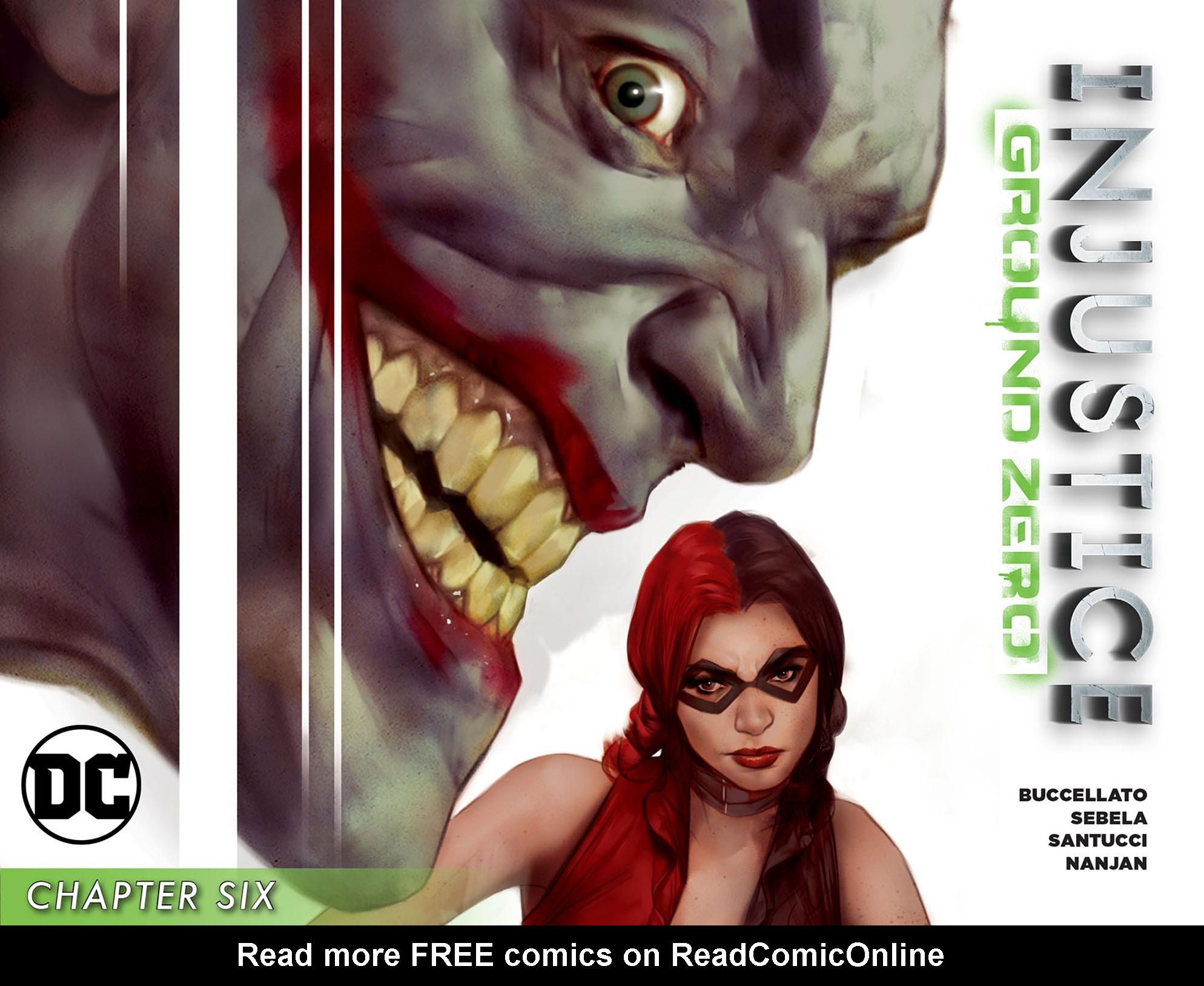 Read online Injustice: Ground Zero comic -  Issue #6 - 1