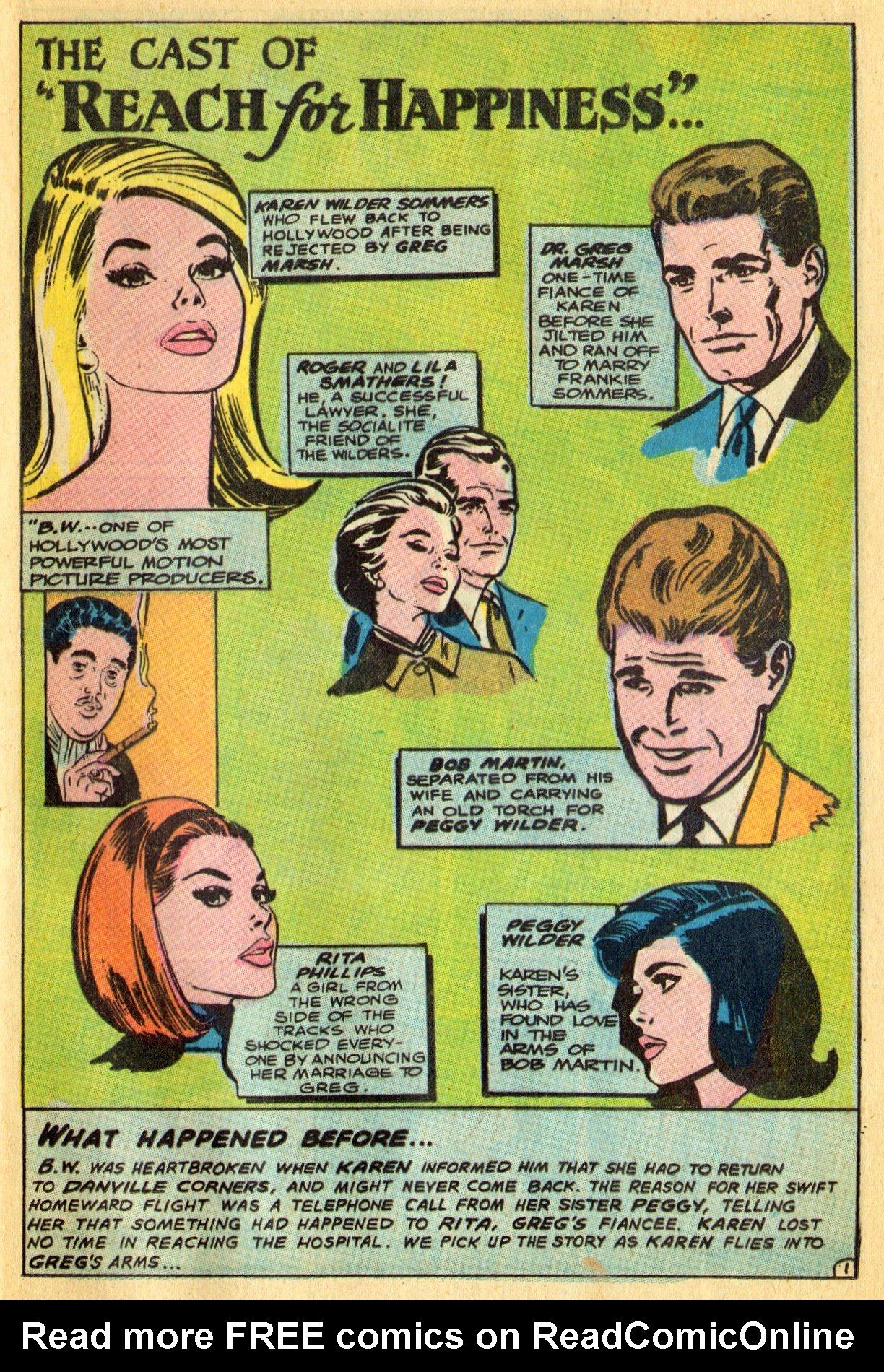 Read online Secret Hearts comic -  Issue #134 - 21