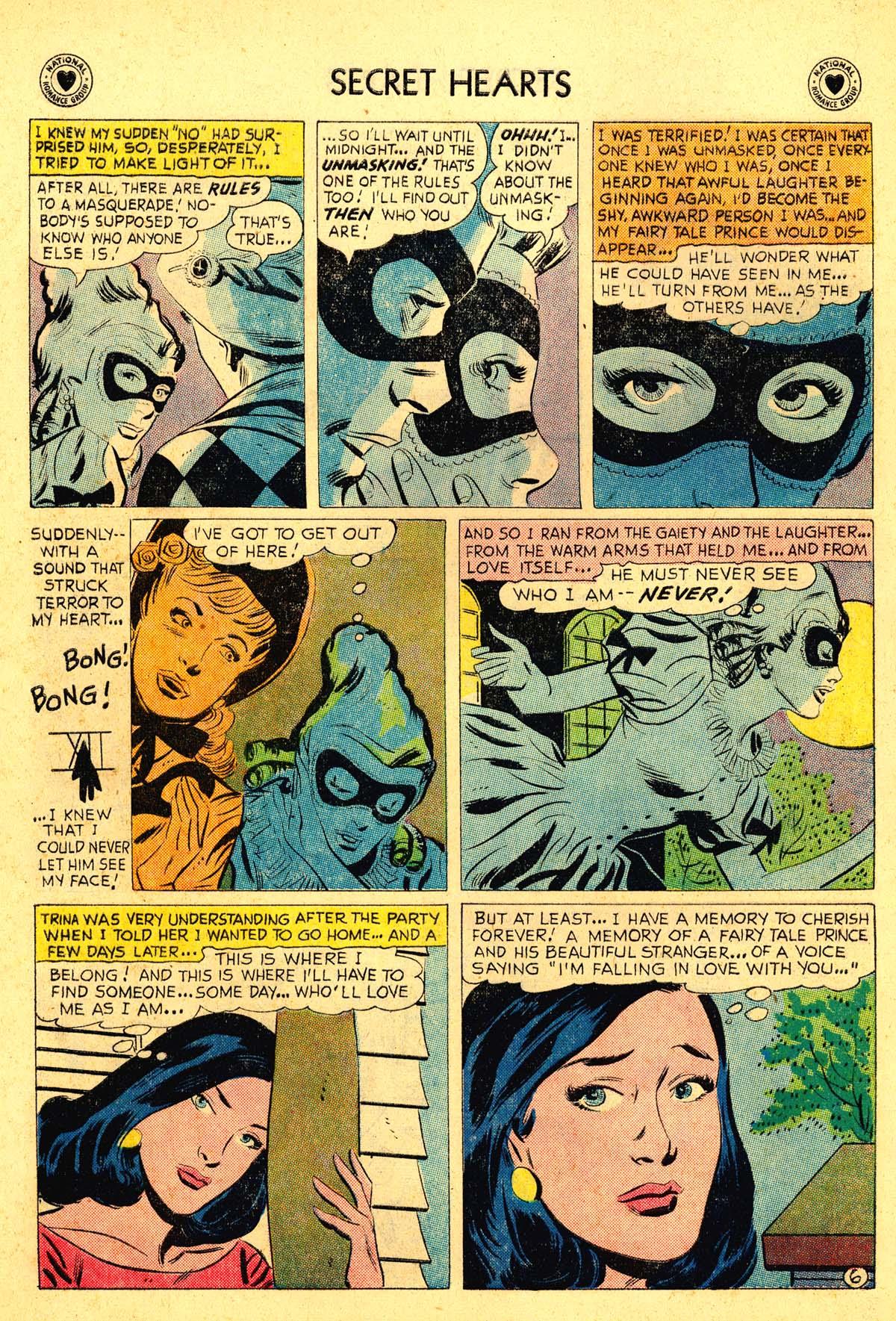 Read online Secret Hearts comic -  Issue #54 - 24