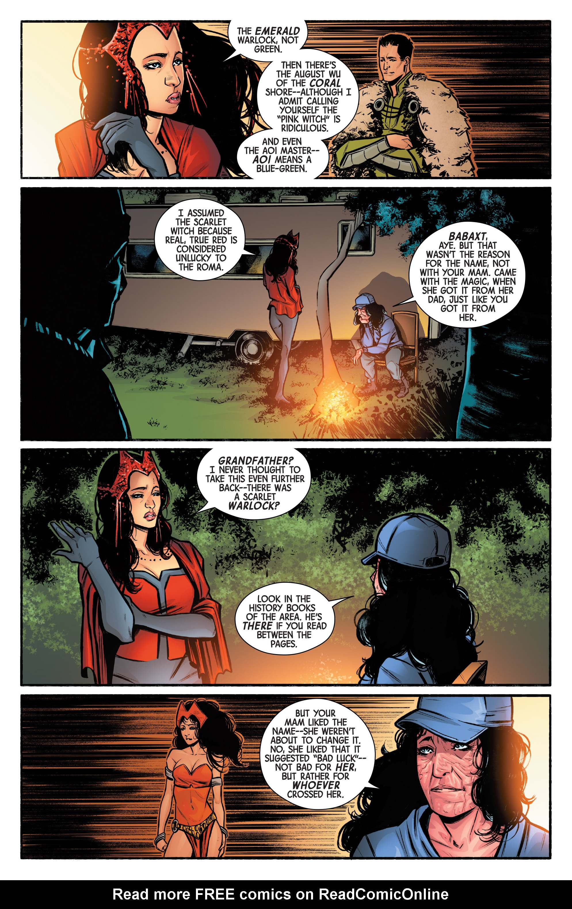 Read online Scarlet Witch (2016) comic -  Issue #12 - 9