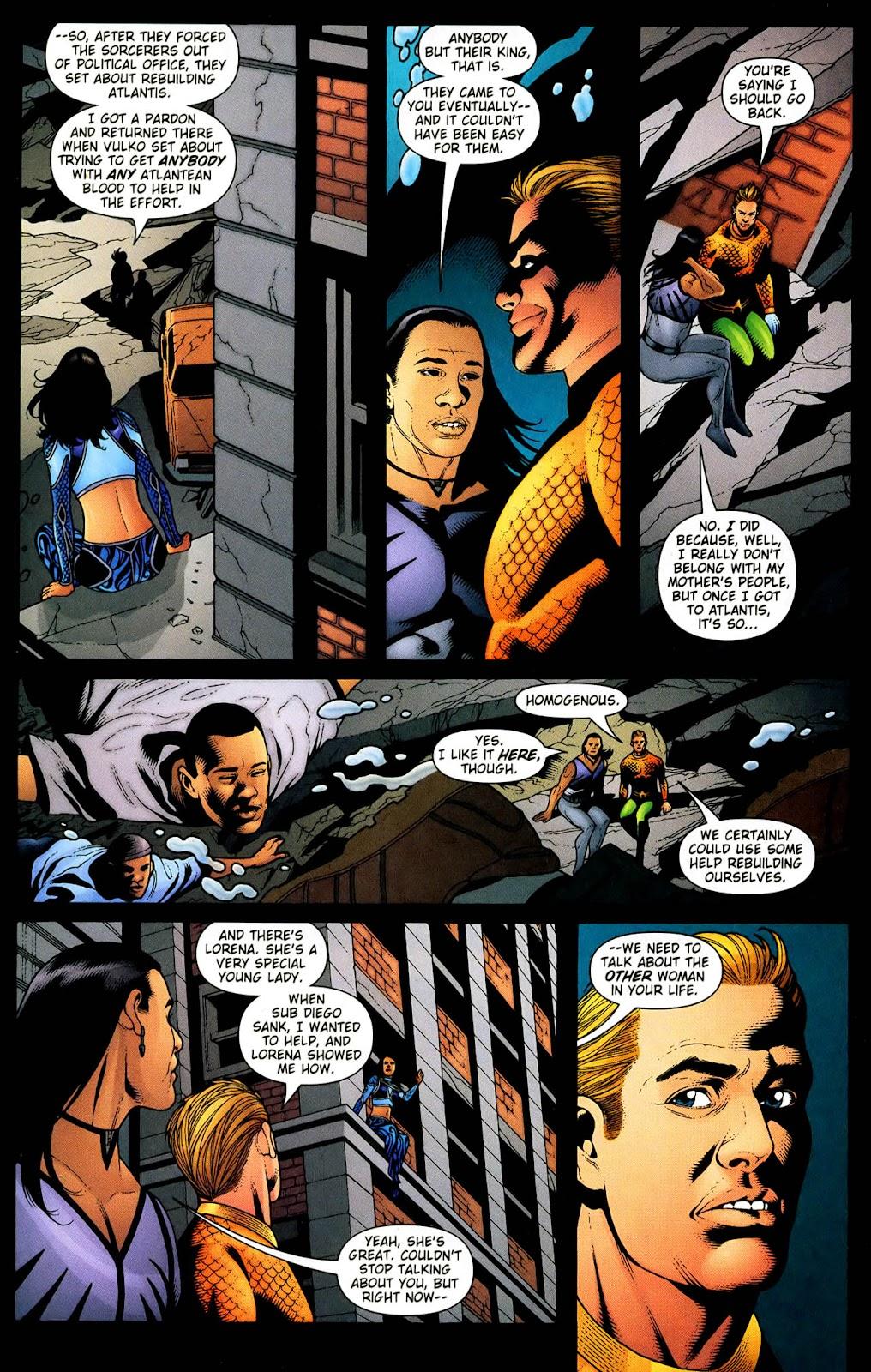 Aquaman (2003) Issue #33 #33 - English 15
