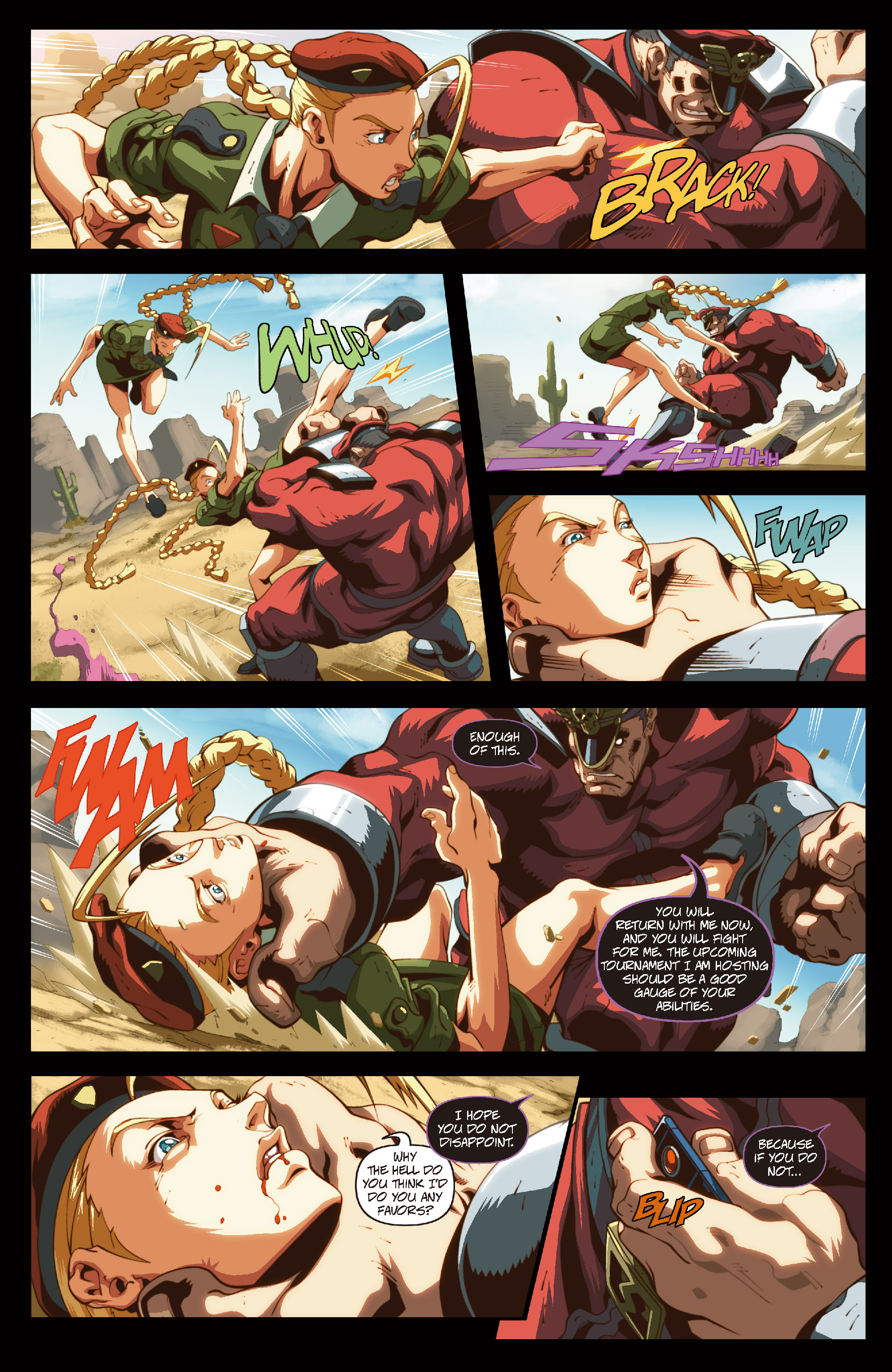 Street Fighter II chap 6 pic 15
