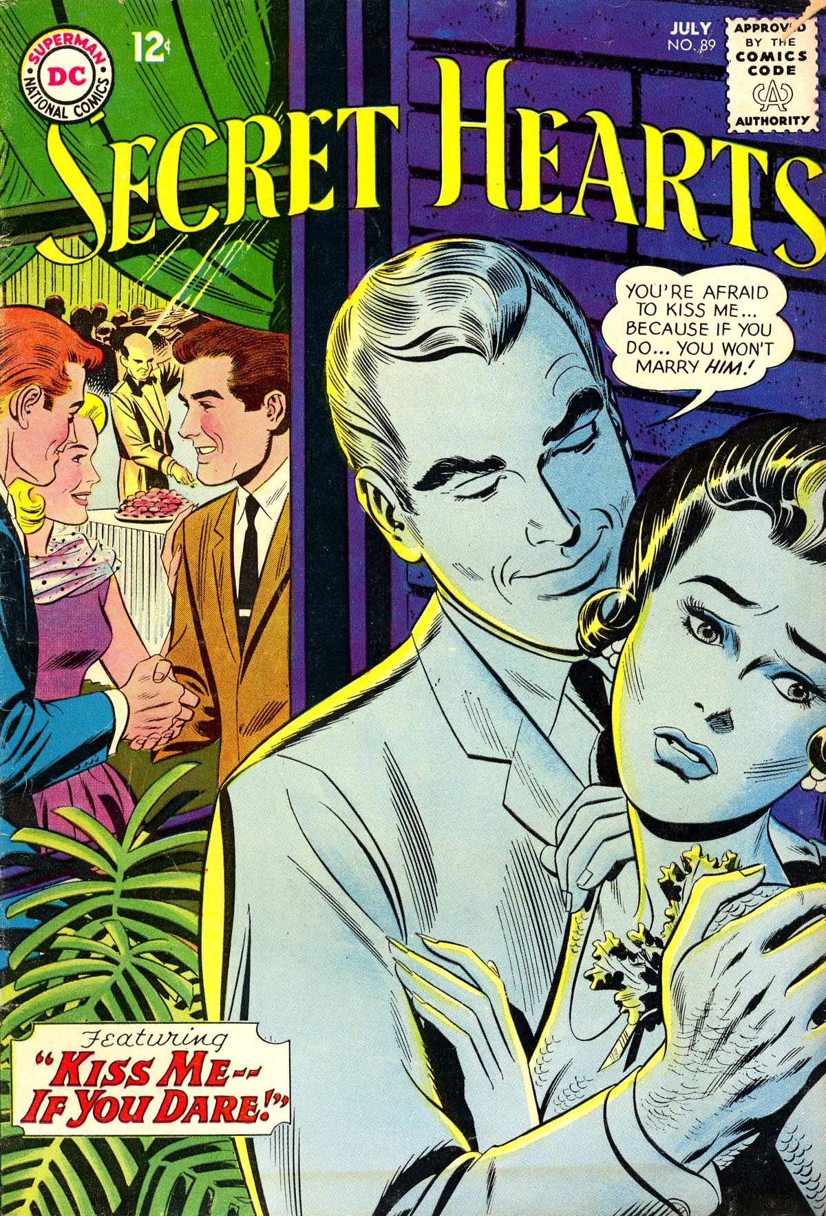 Read online Secret Hearts comic -  Issue #89 - 1