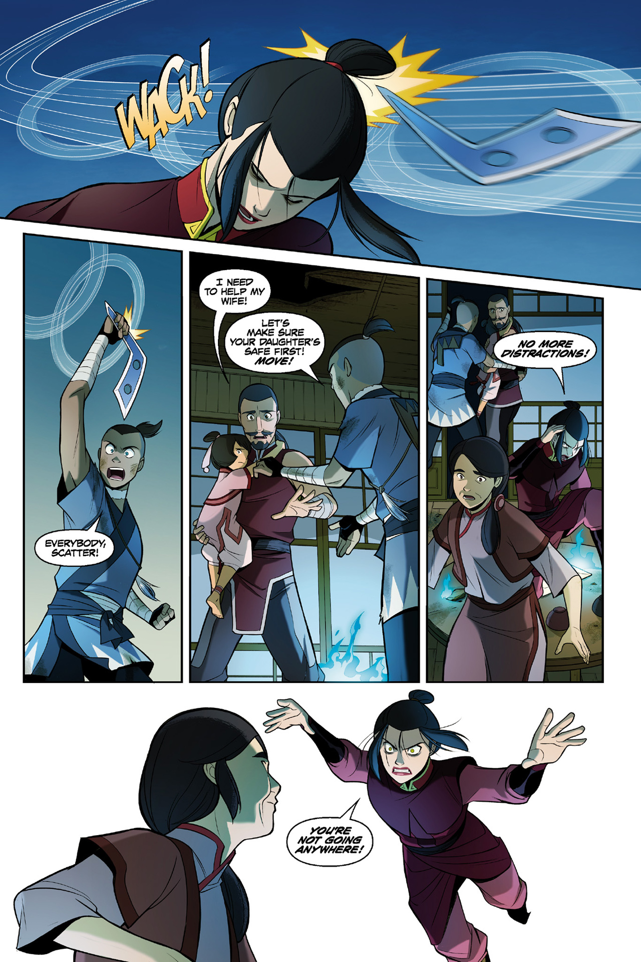 Read online Nickelodeon Avatar: The Last Airbender - The Search comic -  Issue # Part 3 - 59