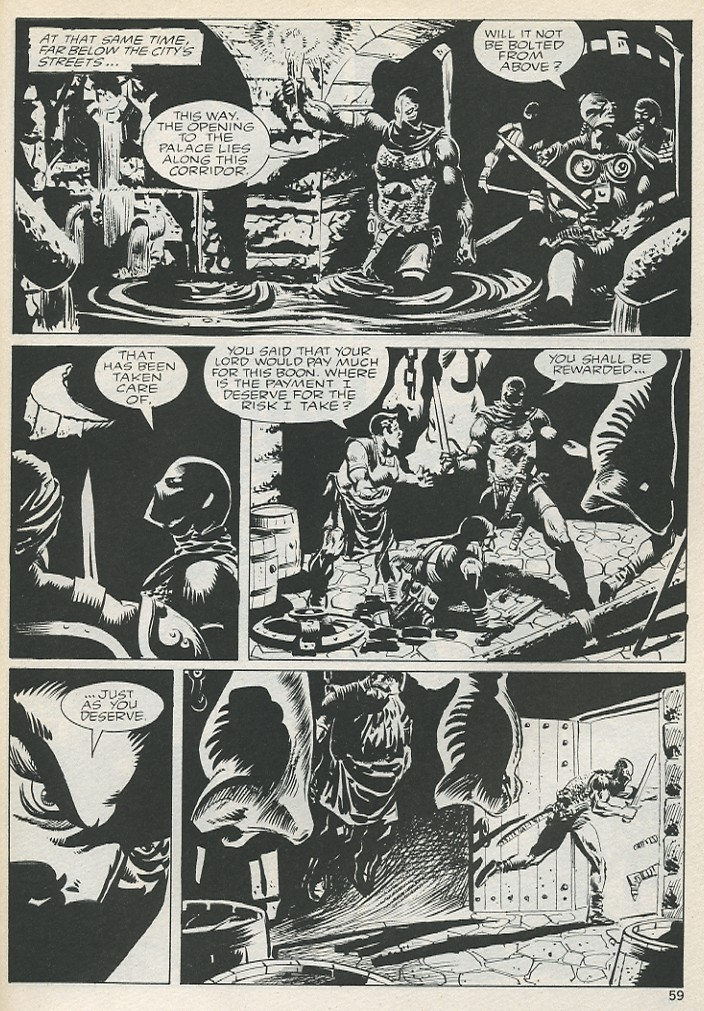 The Savage Sword Of Conan Issue #131 #132 - English 59