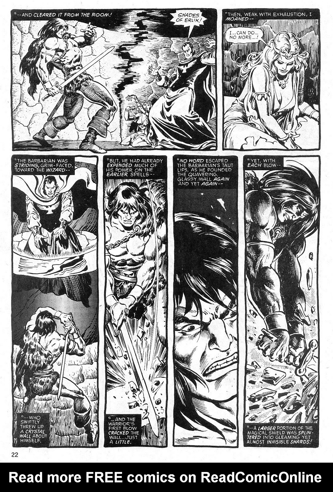 The Savage Sword Of Conan Issue #29 #30 - English 22