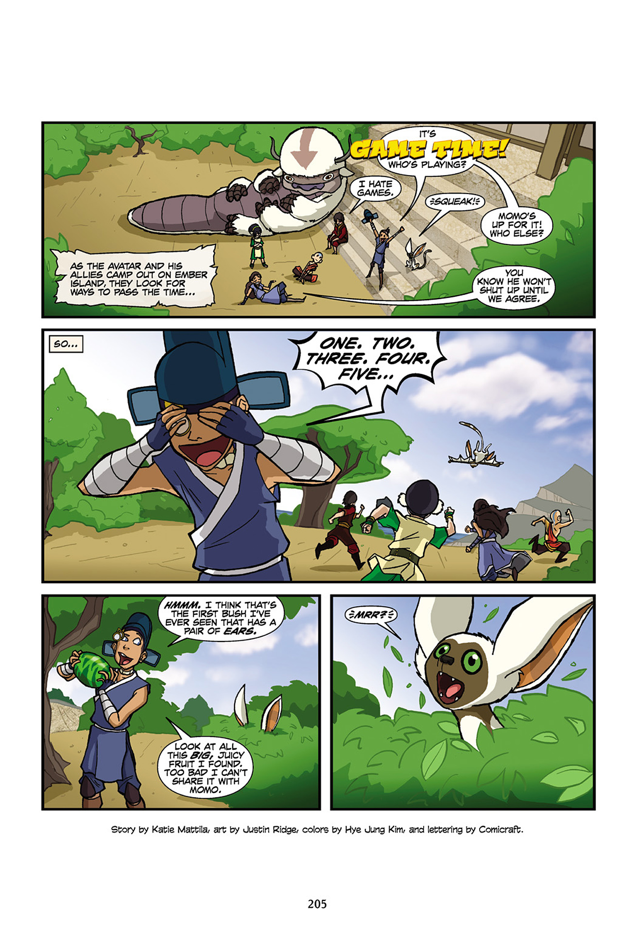 Nickelodeon Avatar: The Last Airbender - The Lost Adventures chap full pic 206