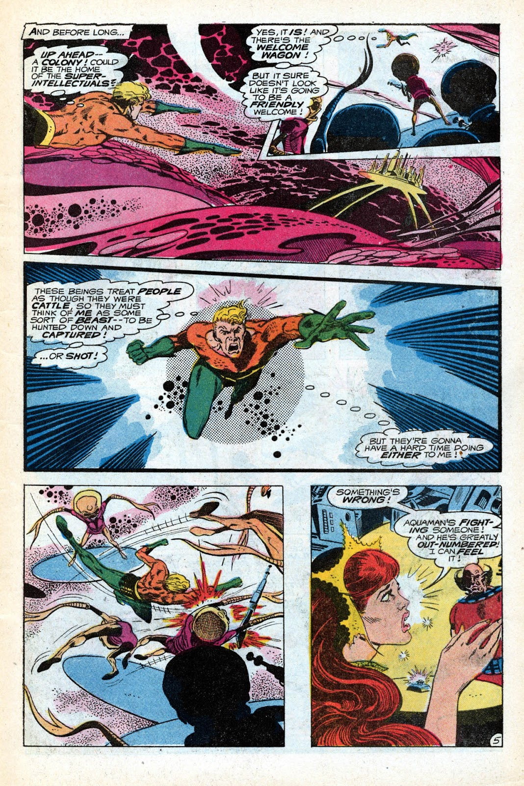 Aquaman (1962) Issue #55 #55 - English 7