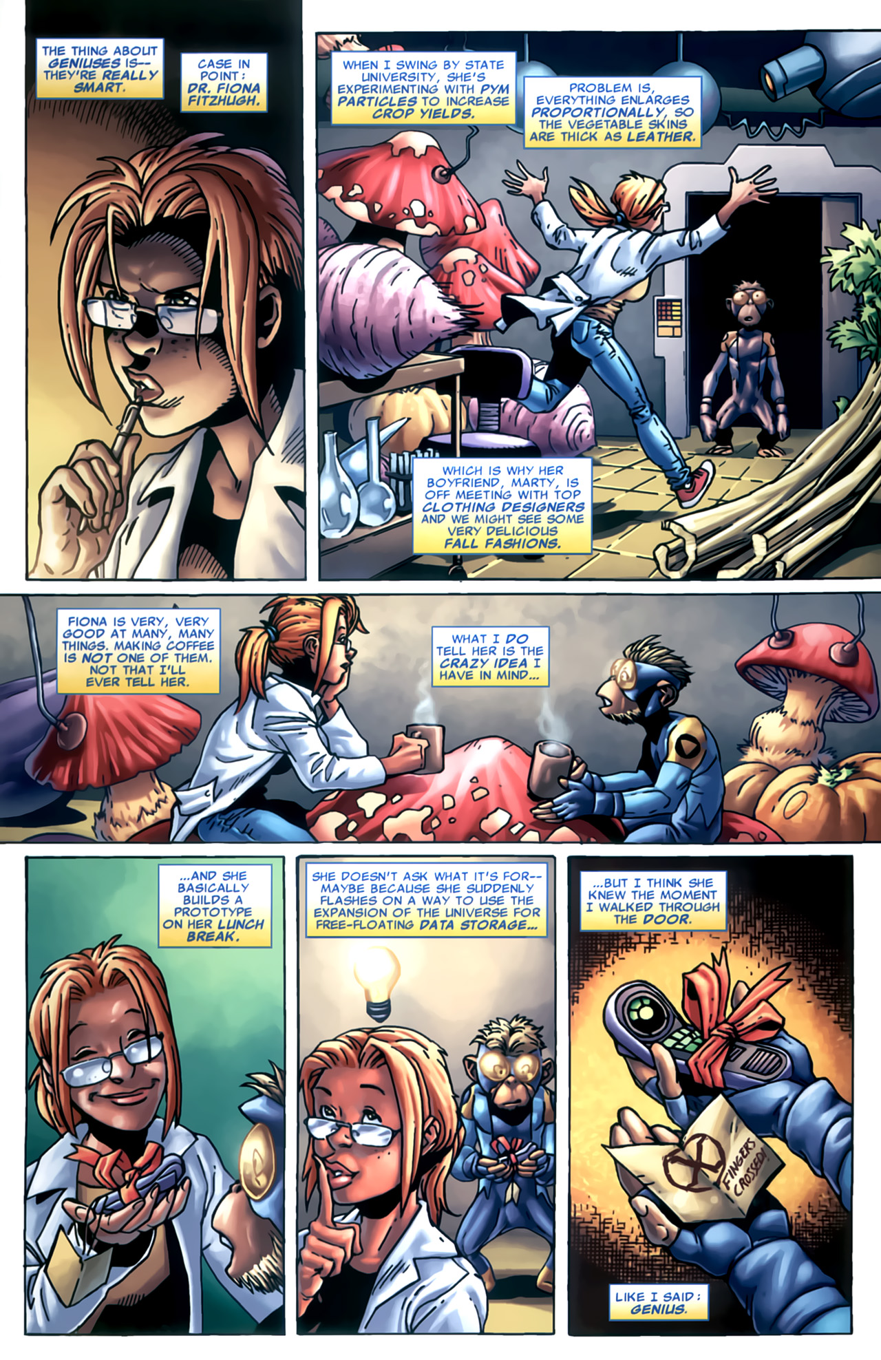 Read online Marvel Apes: Speedball Special comic -  Issue # Full - 16
