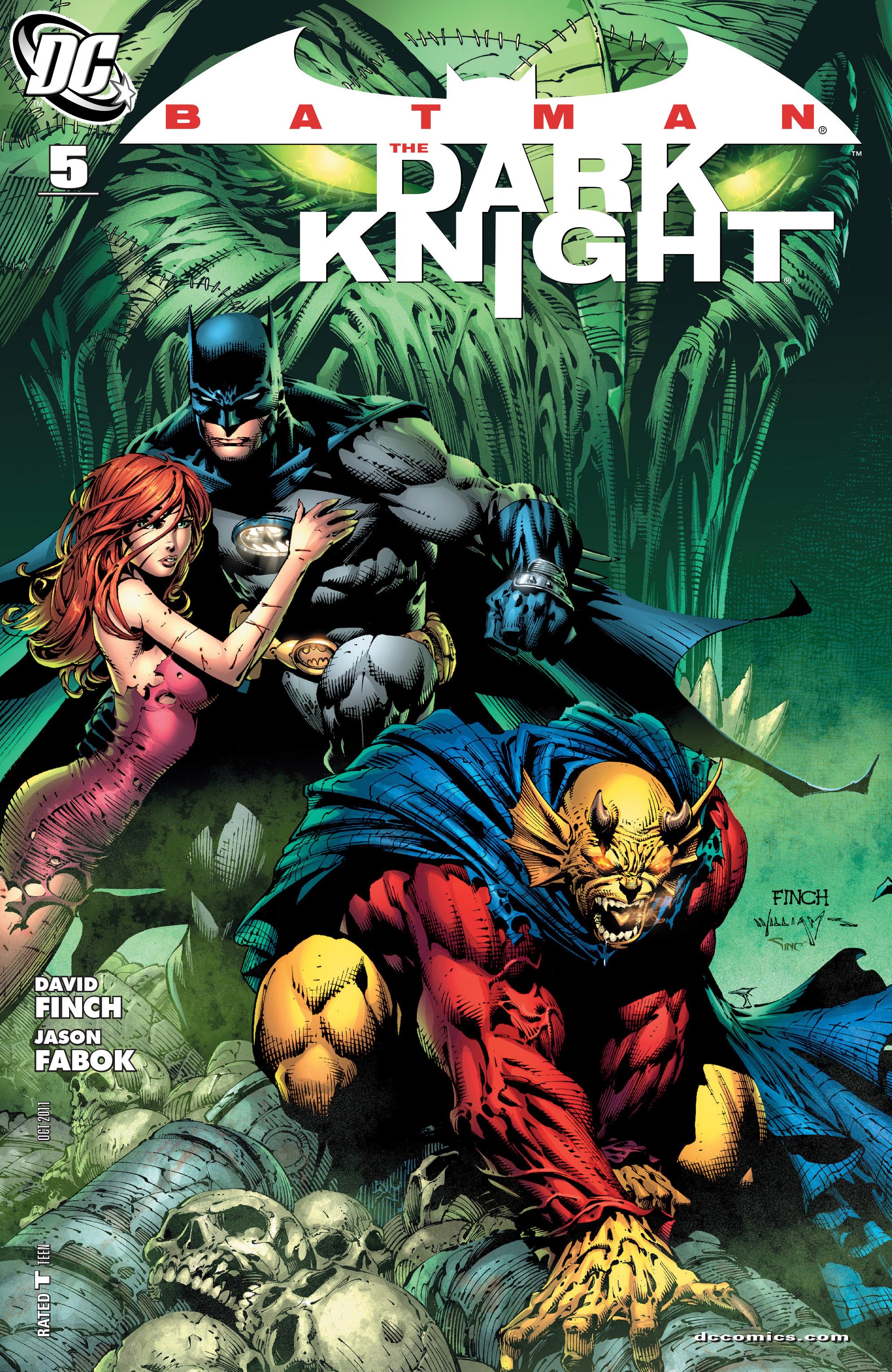 Batman: The Dark Knight [I] (2011) 5 Page 1