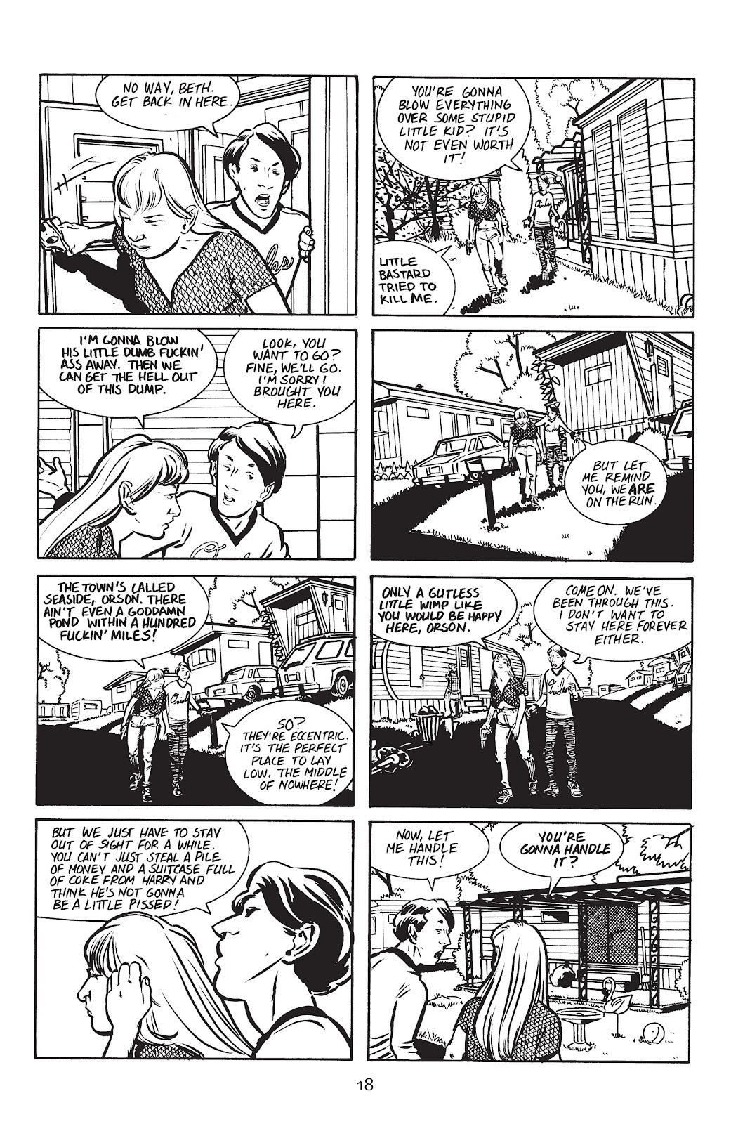 Stray Bullets Issue #8 #8 - English 20