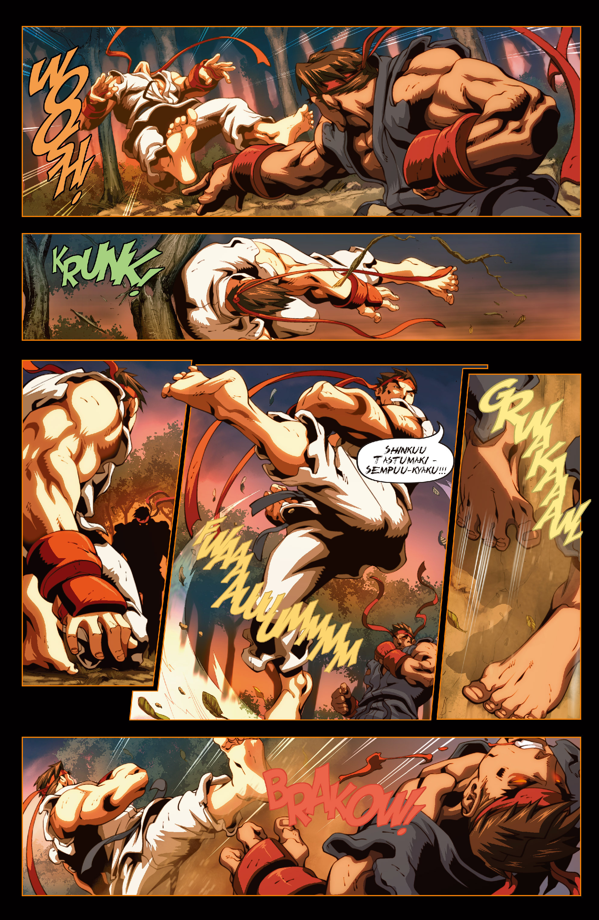 Street Fighter II chap 6 pic 18