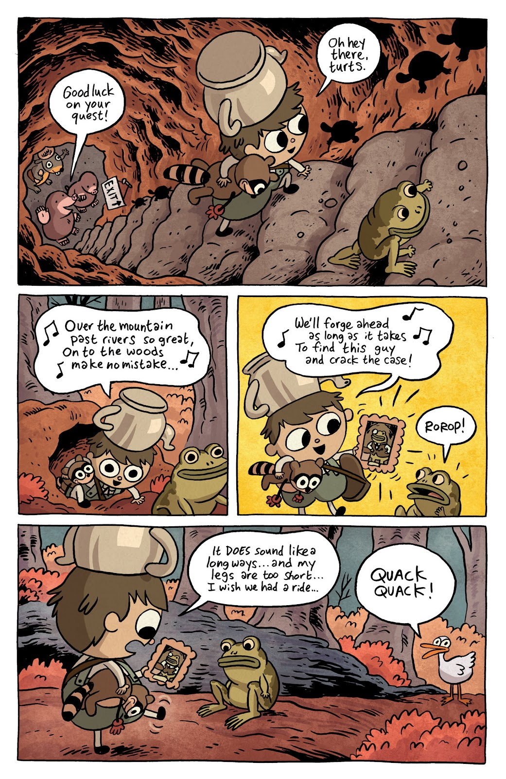 Over the Garden Wall (2016) Issue #3 #3 - English 3