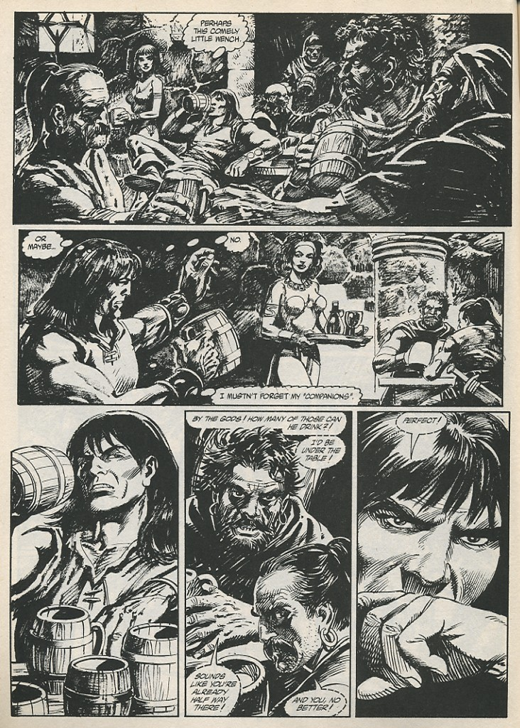 The Savage Sword Of Conan Issue #189 #190 - English 16