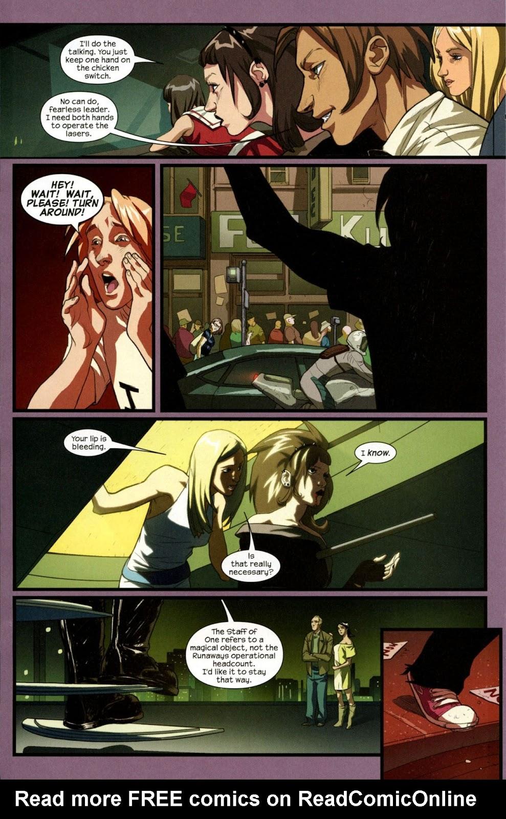 Runaways (2008) Issue #14 #14 - English 17