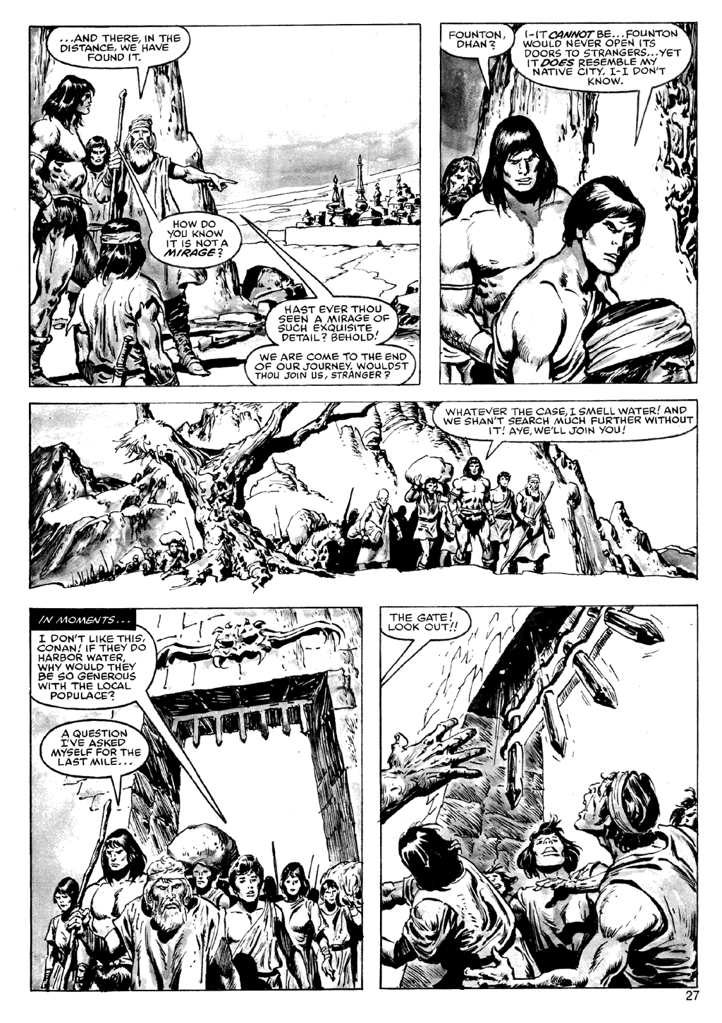 The Savage Sword Of Conan Issue #72 #73 - English 27
