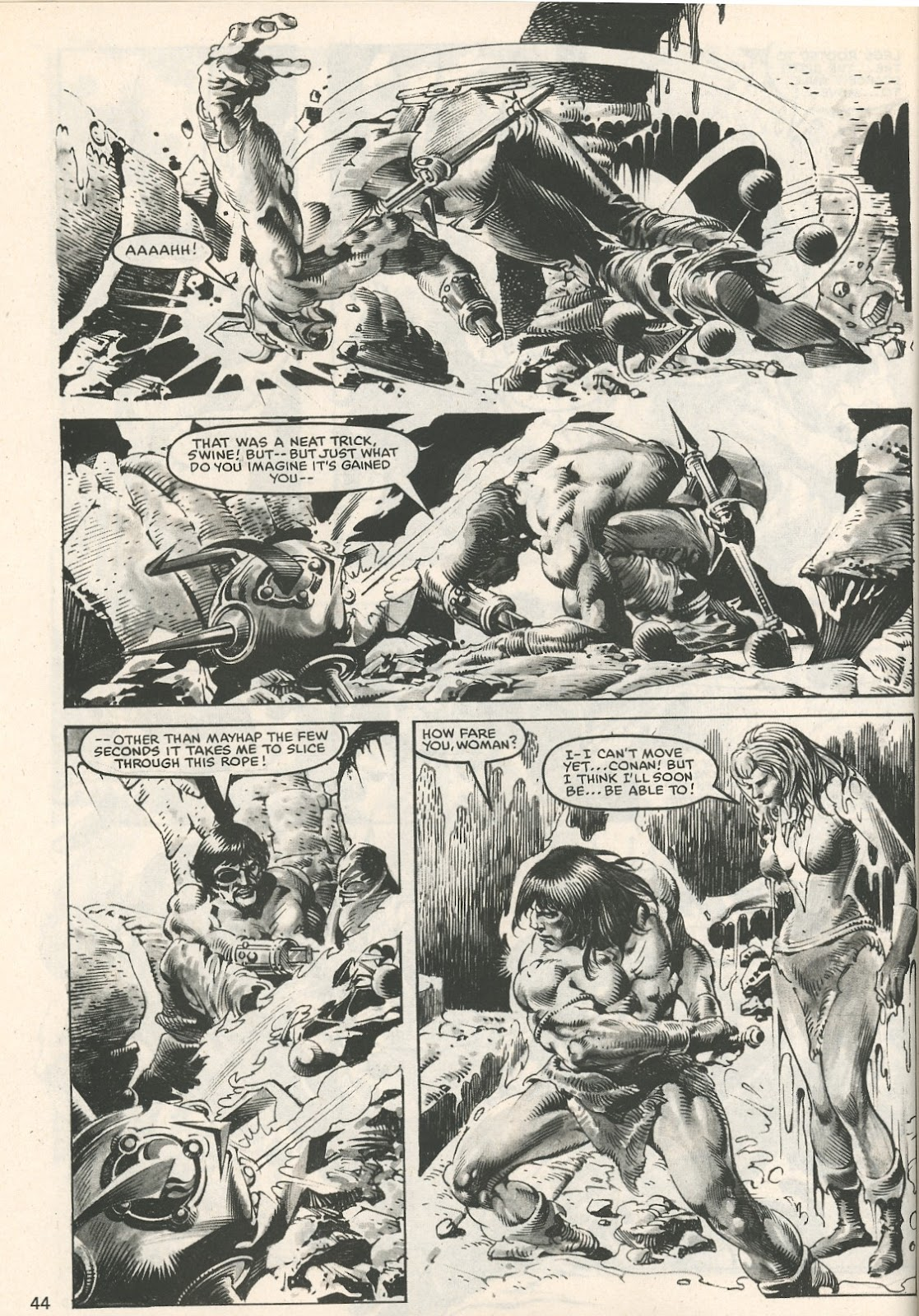 The Savage Sword Of Conan Issue #107 #108 - English 44
