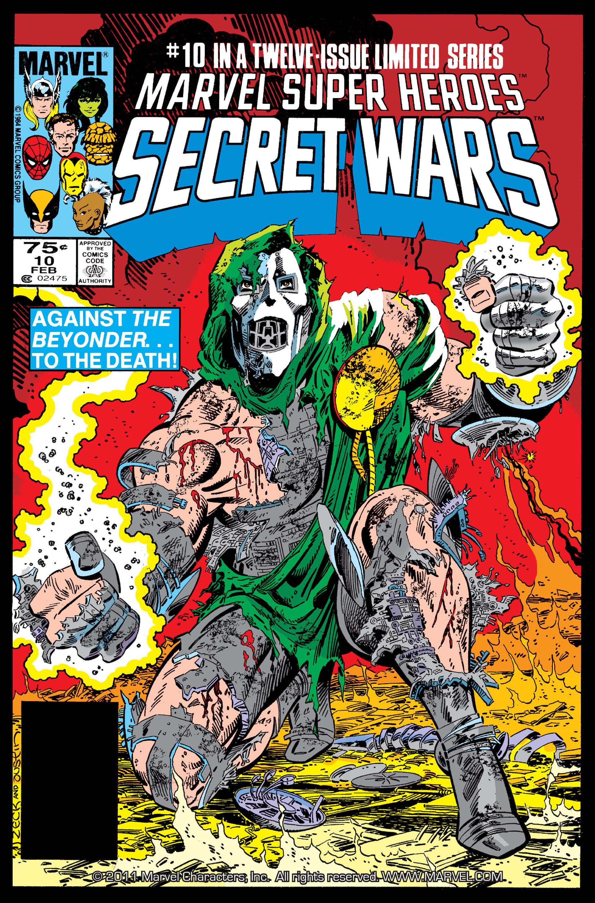 Marvel Super Heroes Secret Wars (1984) 10 Page 1
