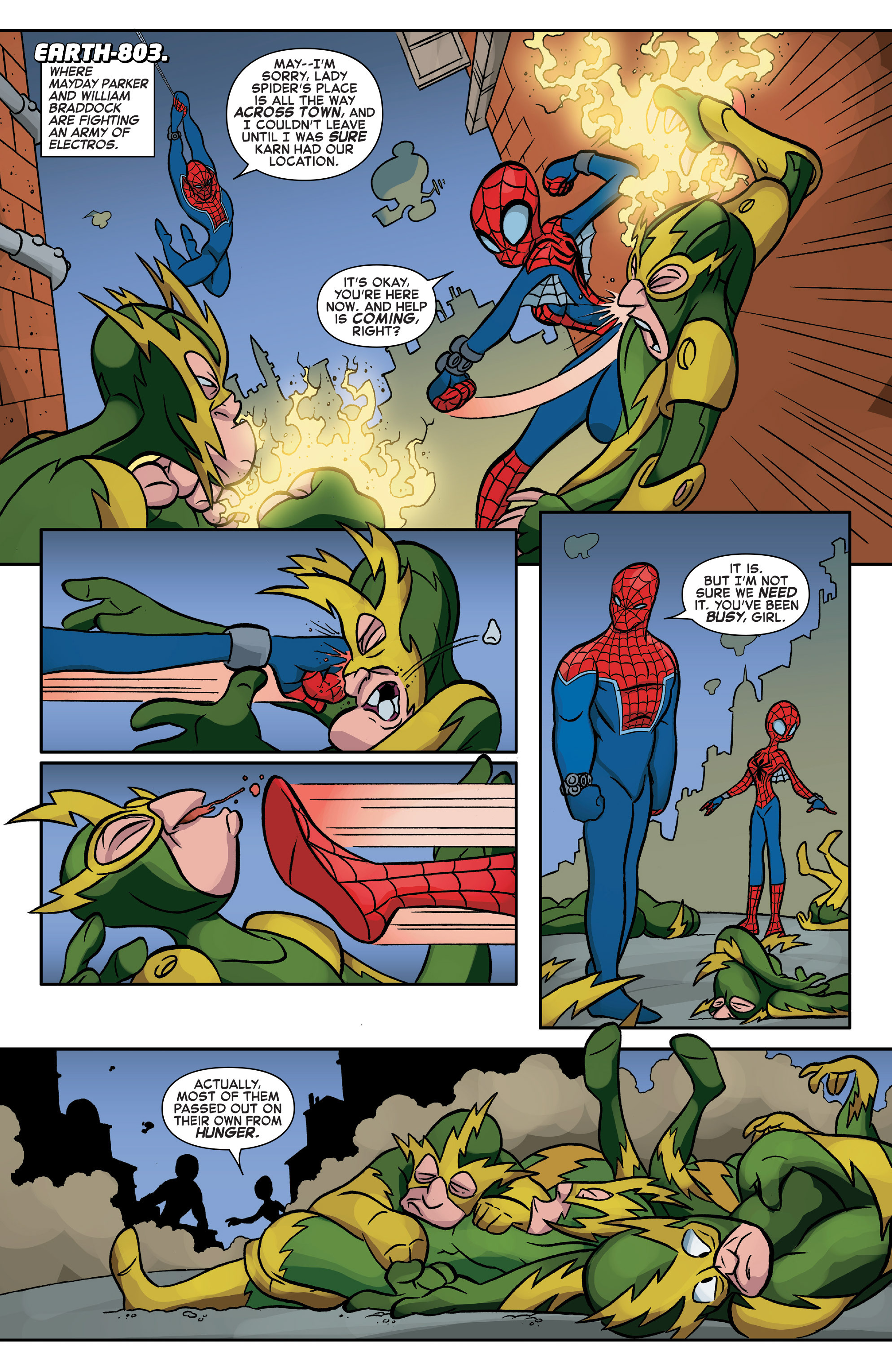 Read online Web Warriors comic -  Issue #10 - 7