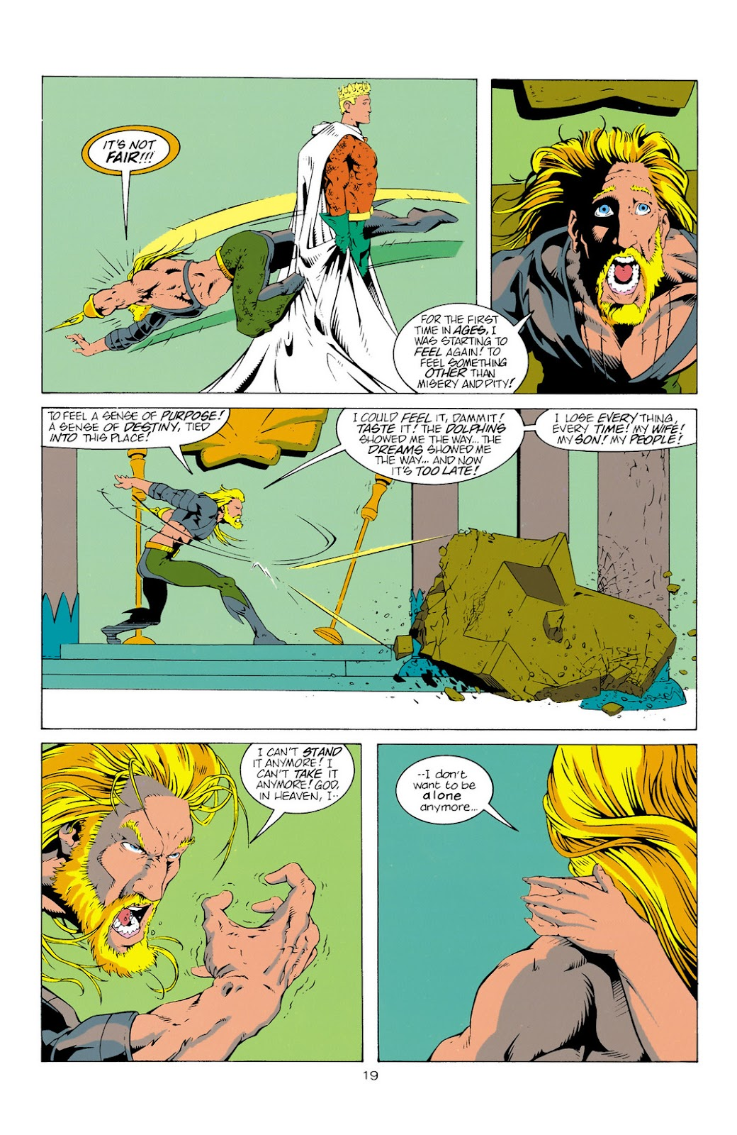 Aquaman (1994) Issue #11 #17 - English 19