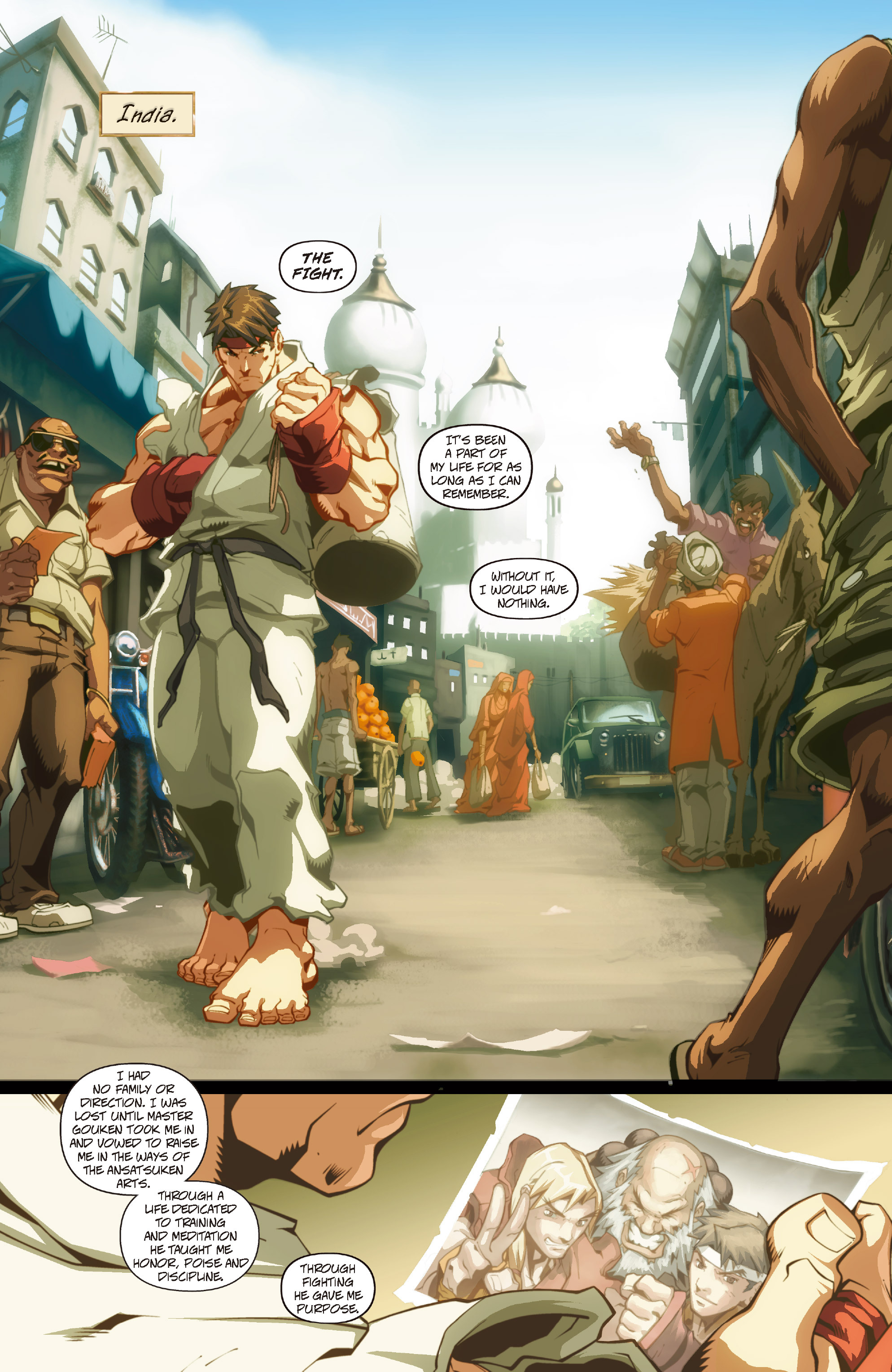 Street Fighter II chap 0 pic 5