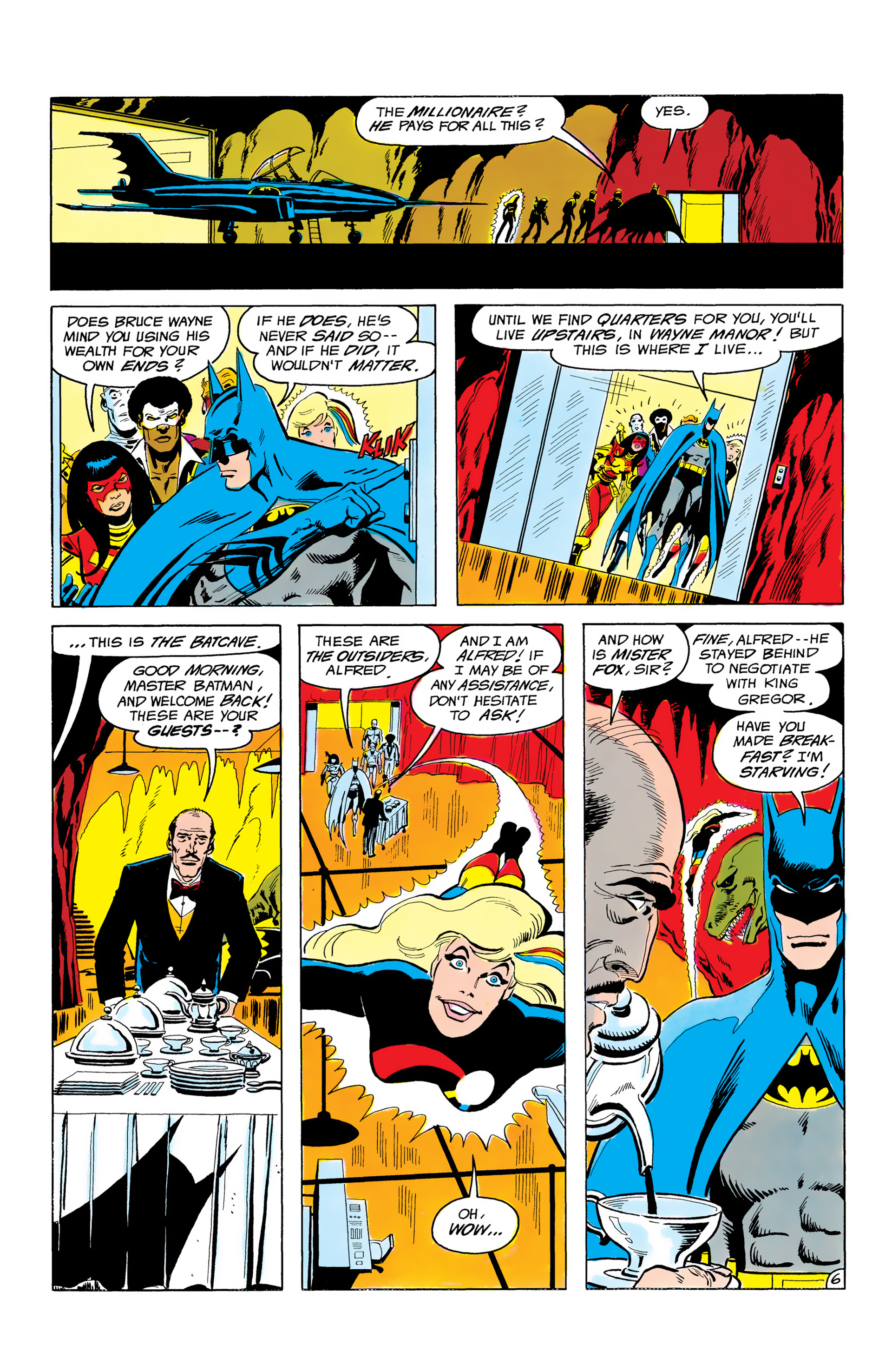 Batman and the Outsiders (1983) 3 Page 6