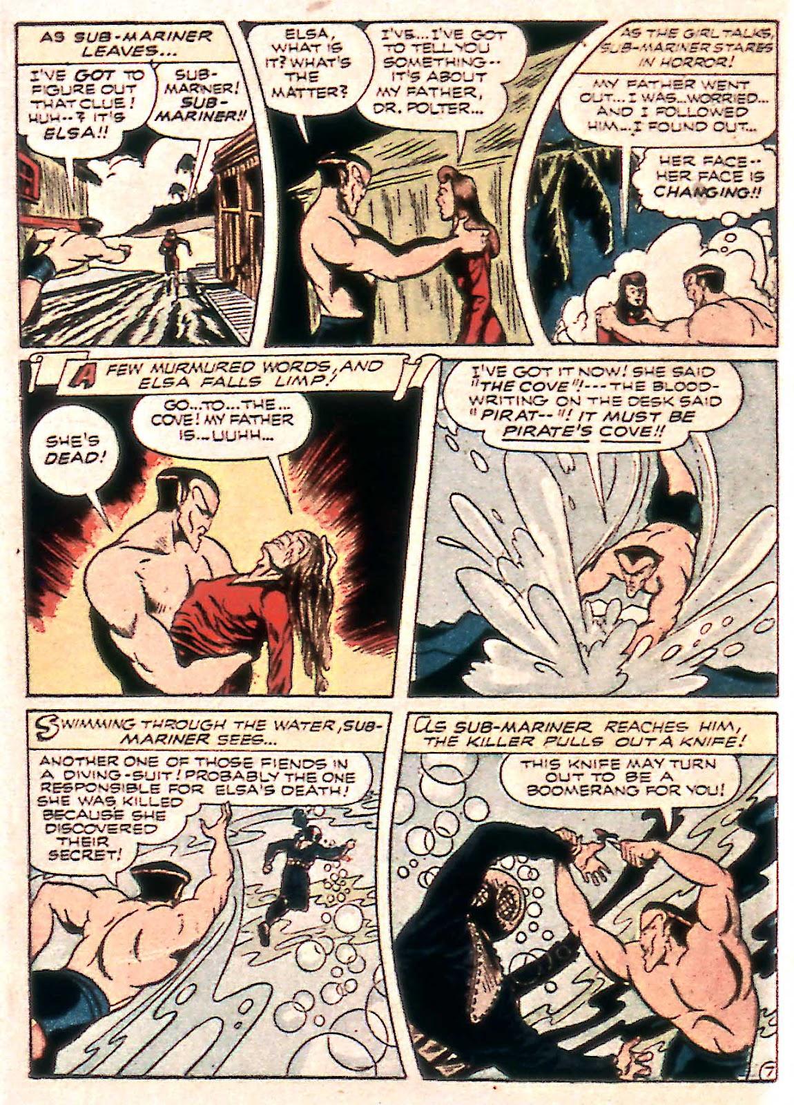 Sub-Mariner Comics Issue #14 #14 - English 22