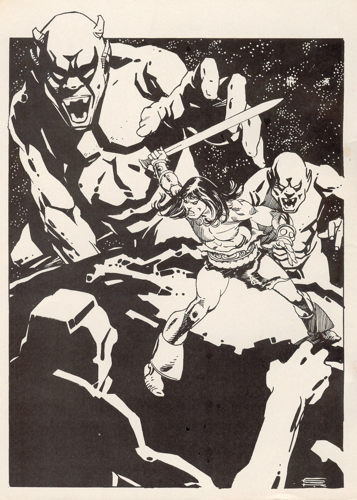 The Savage Sword Of Conan Issue #67 #68 - English 2