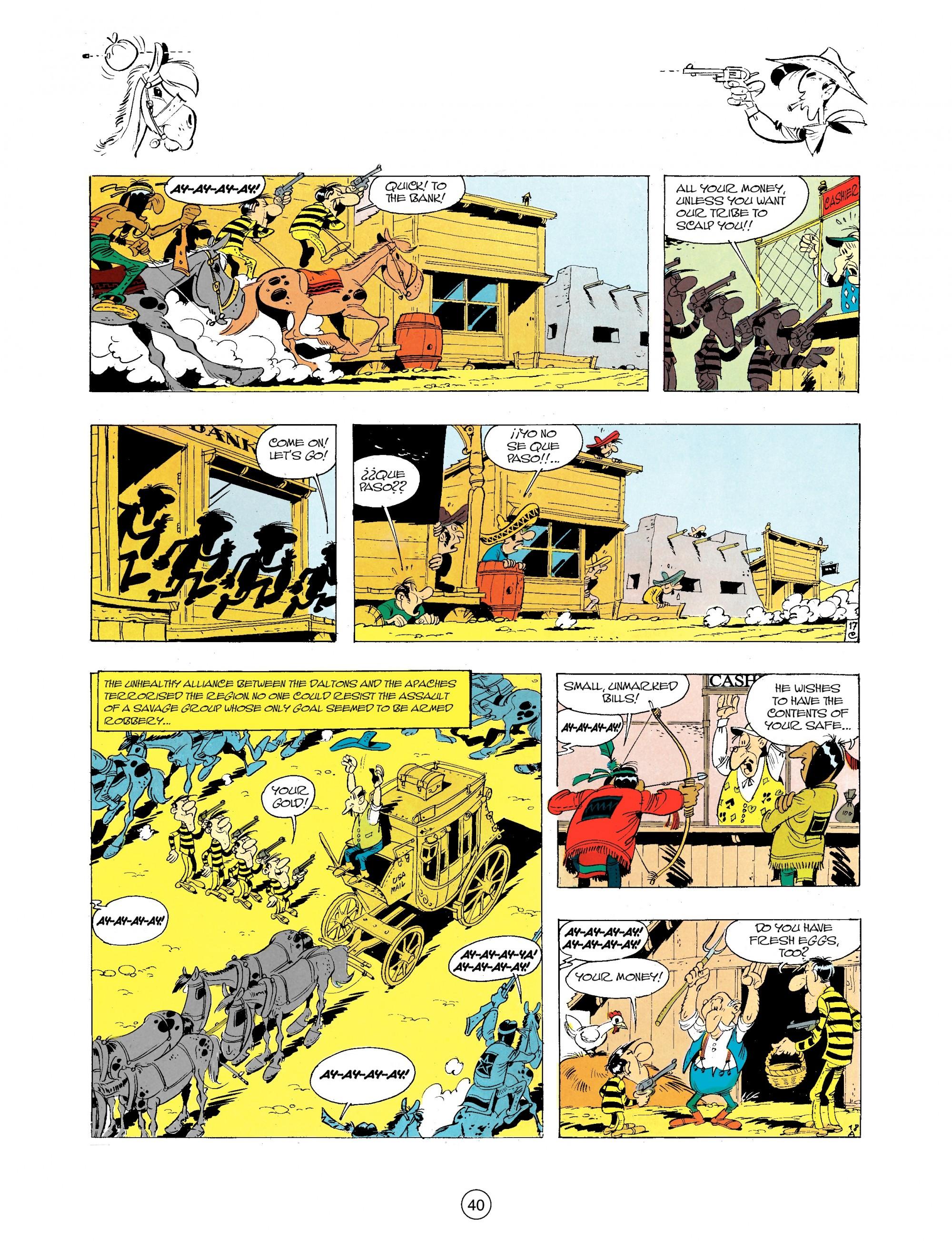 A Lucky Luke Adventure 34 Page 39