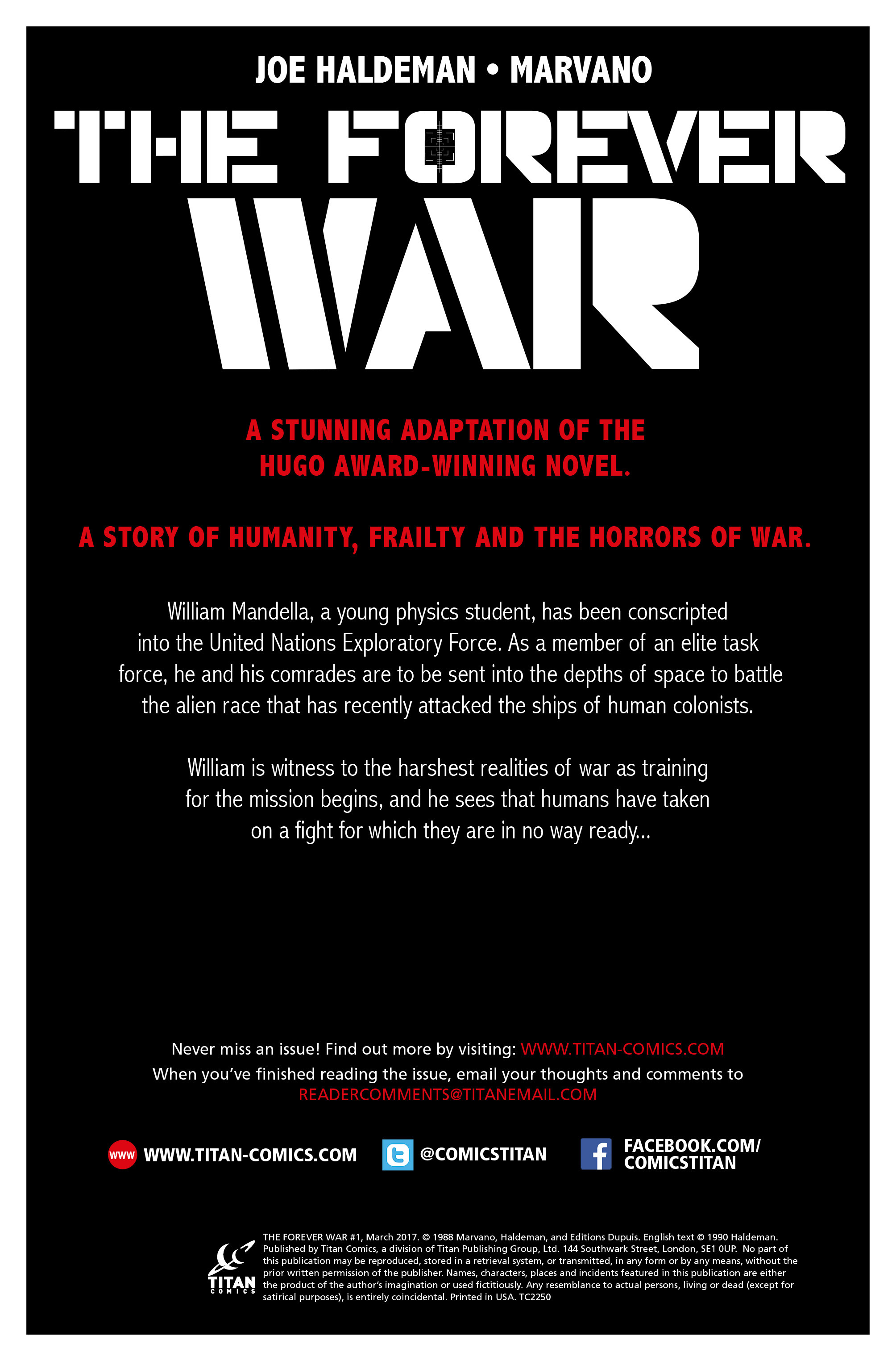 The Forever War (2017) #1 #6 - English 2