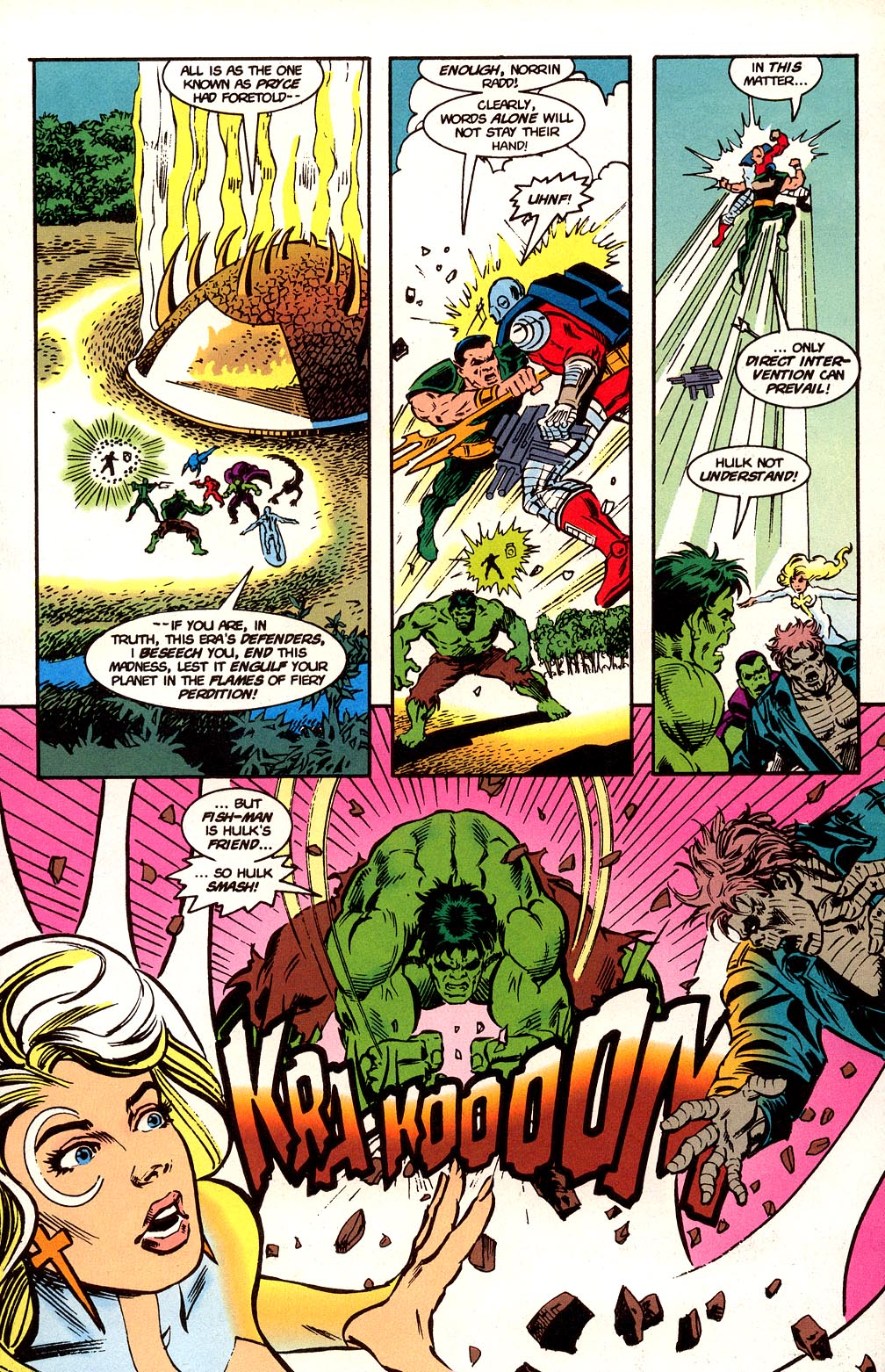 Read online Secret Defenders comic -  Issue #24 - 4