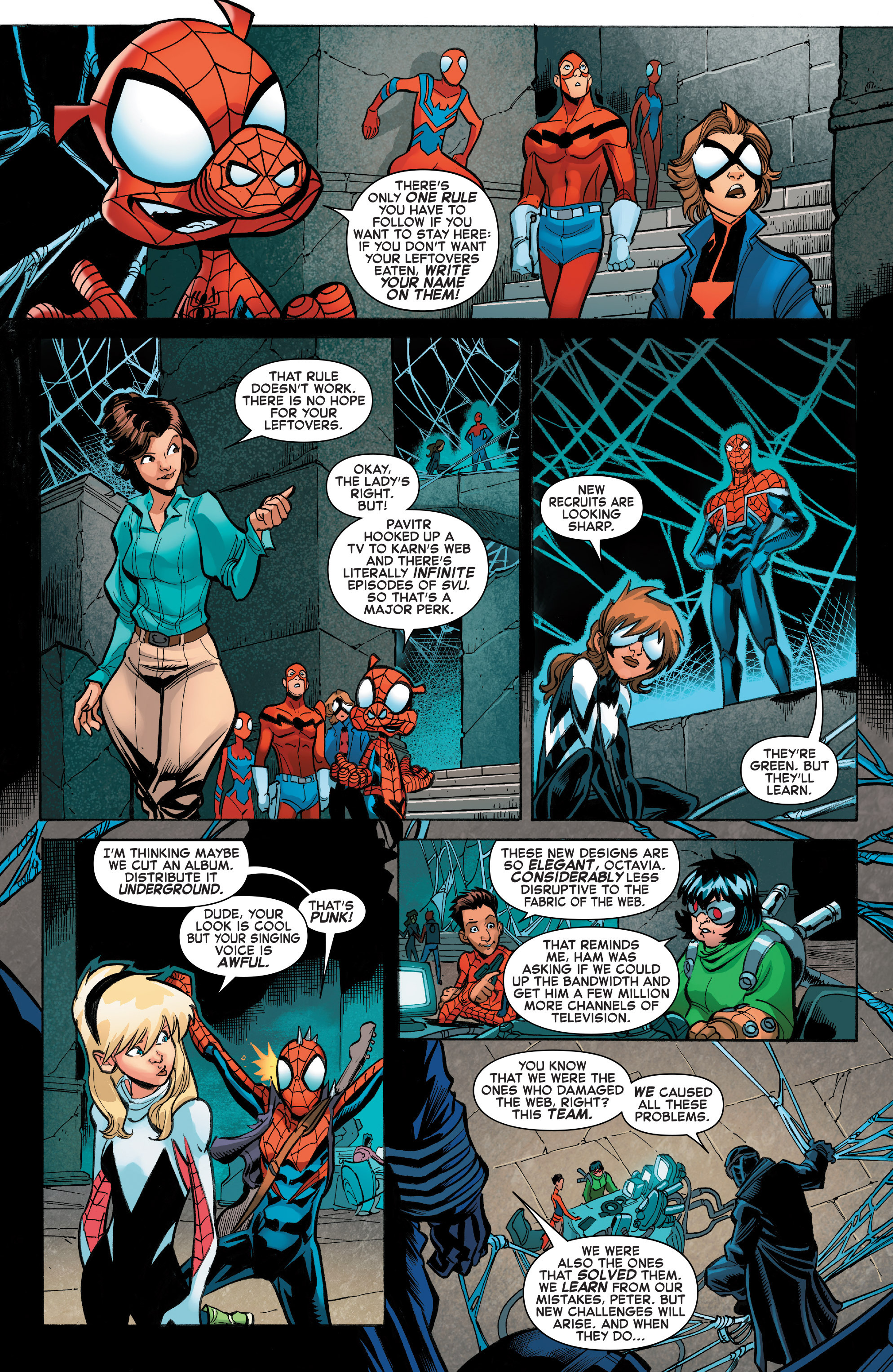 Read online Web Warriors comic -  Issue #11 - 20