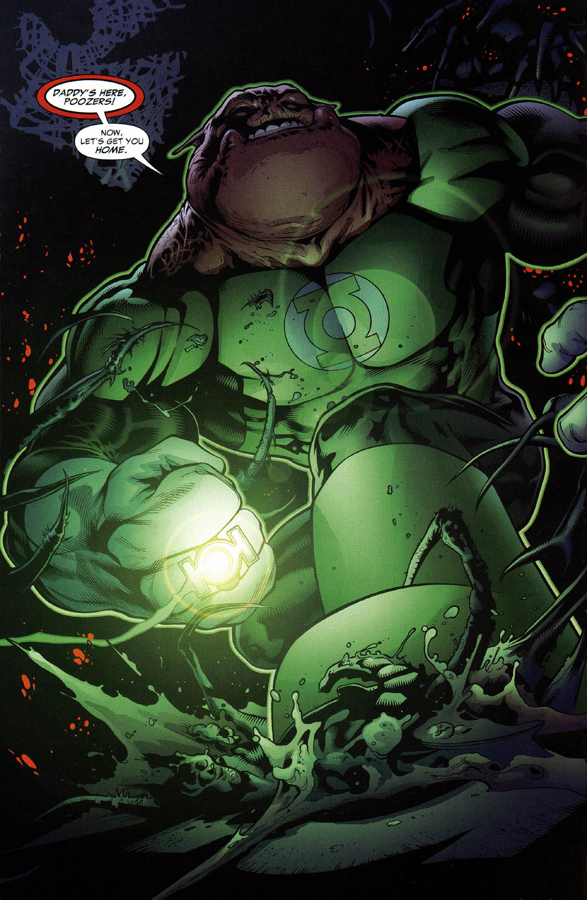 Read online Green Lantern Corps: Recharge comic -  Issue #3 - 5
