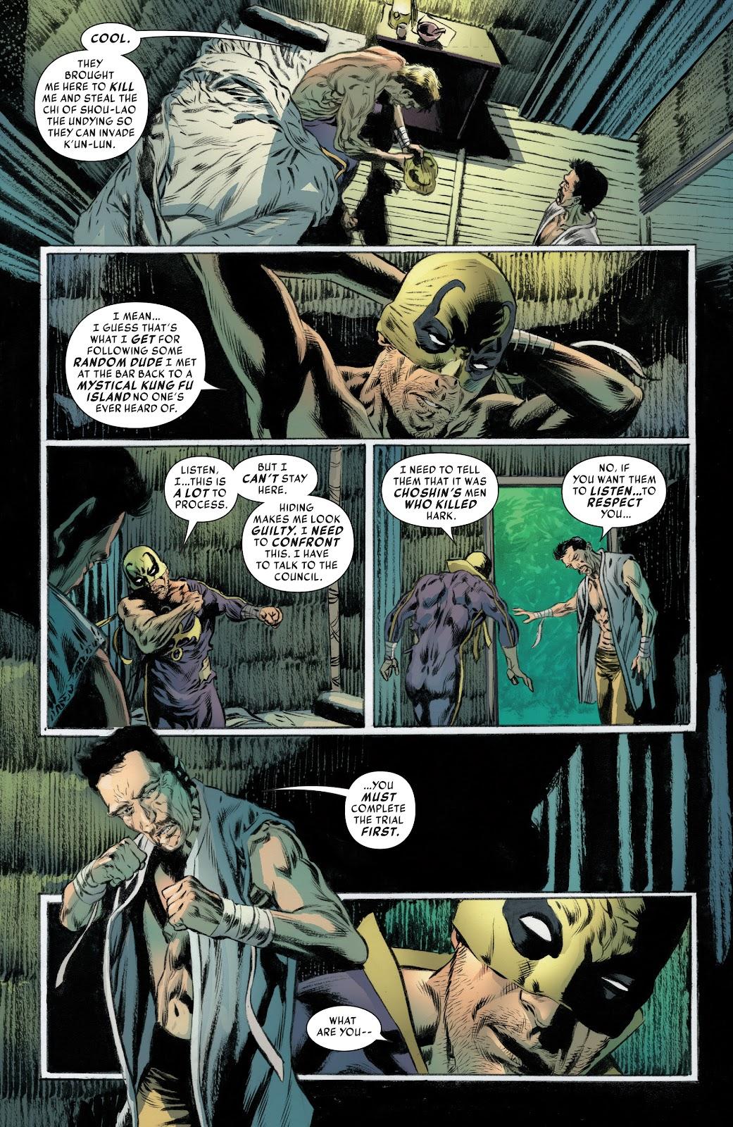 Iron Fist (2017) Issue #4 #4 - English 11