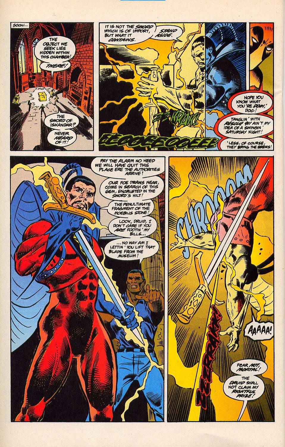 Read online Secret Defenders comic -  Issue #15 - 17